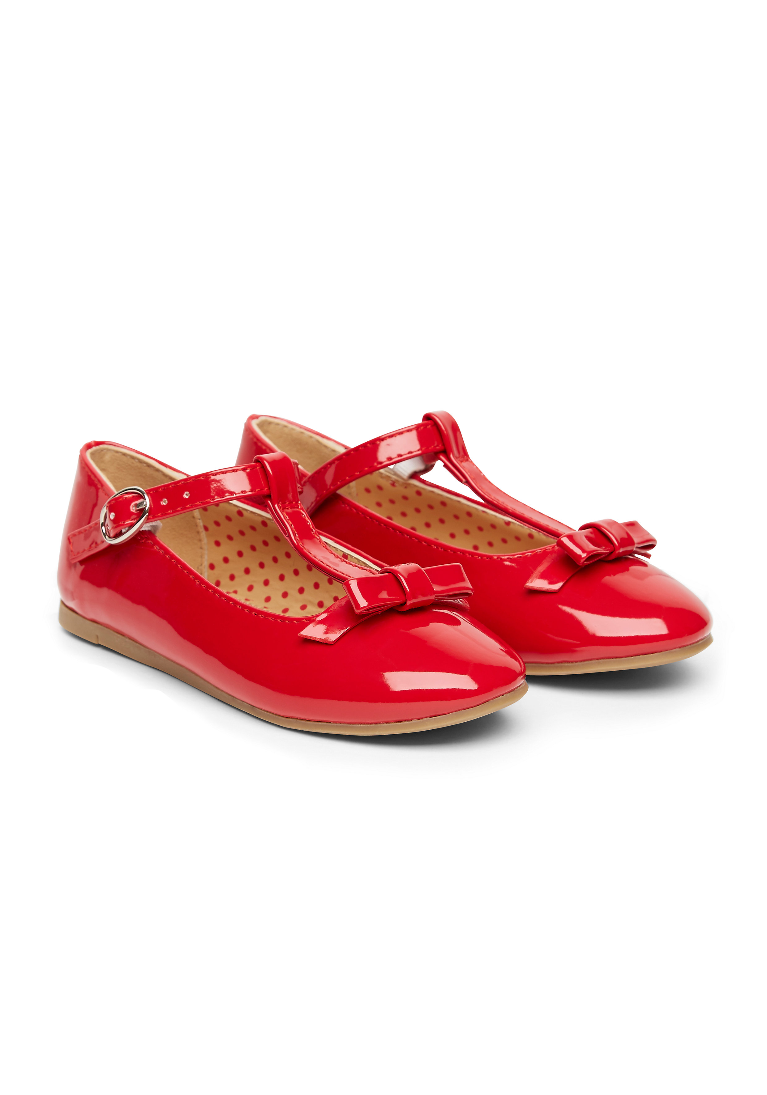 Mothercare | Girls T Bar Shoes - Red