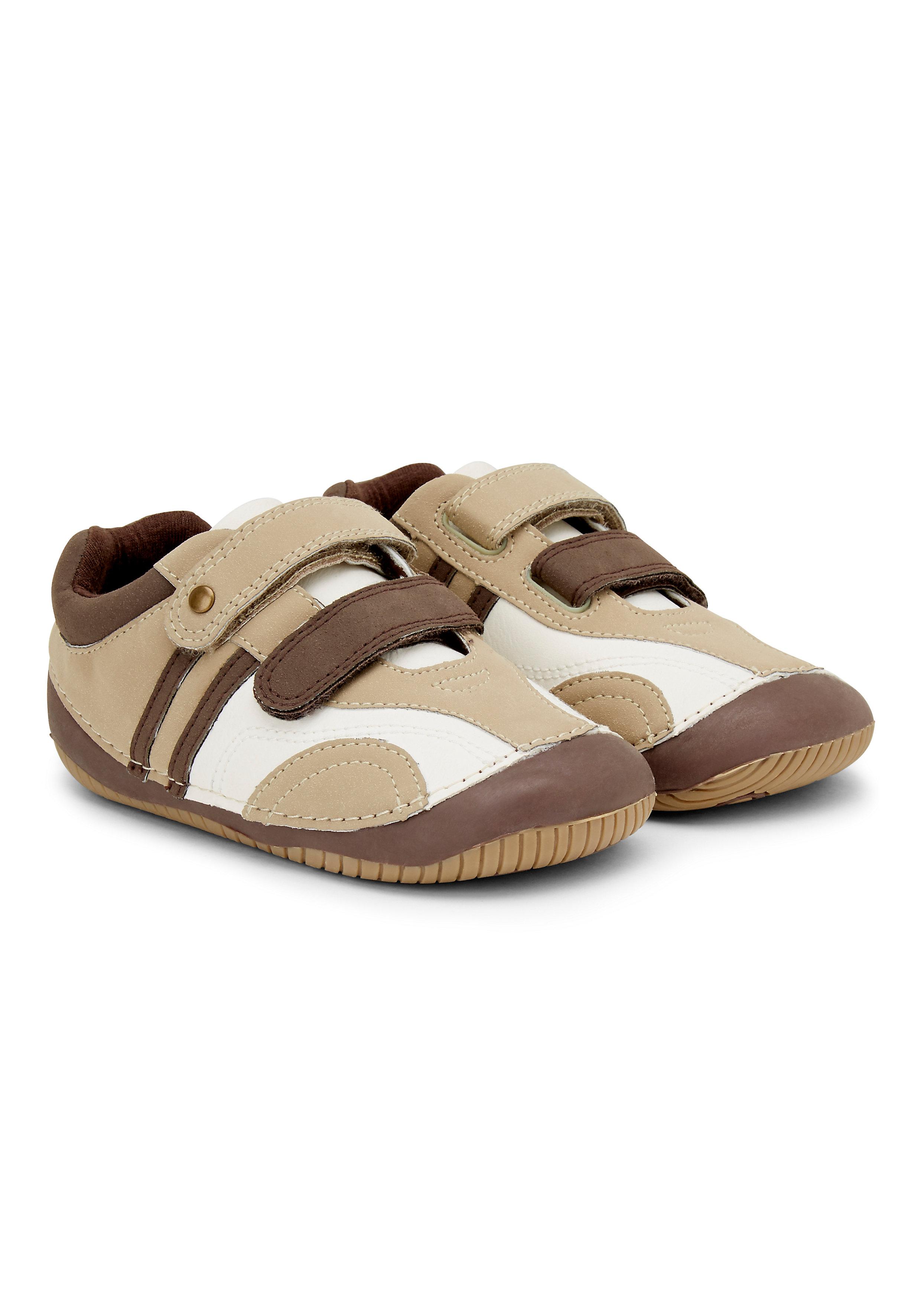 Mothercare   Boys Brown Crawler Shoes
