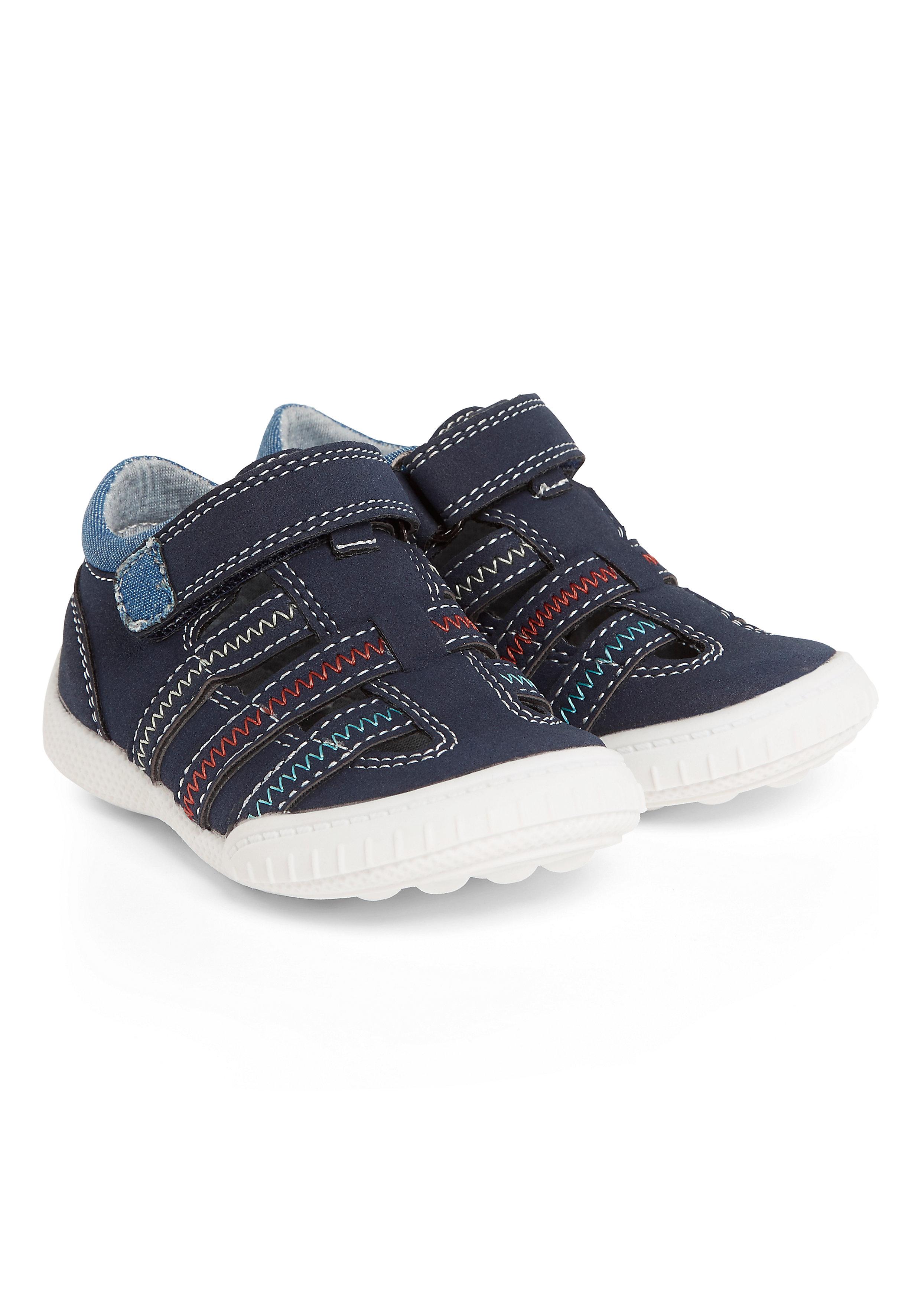 Mothercare   Boys First Walker Sandals - Navy