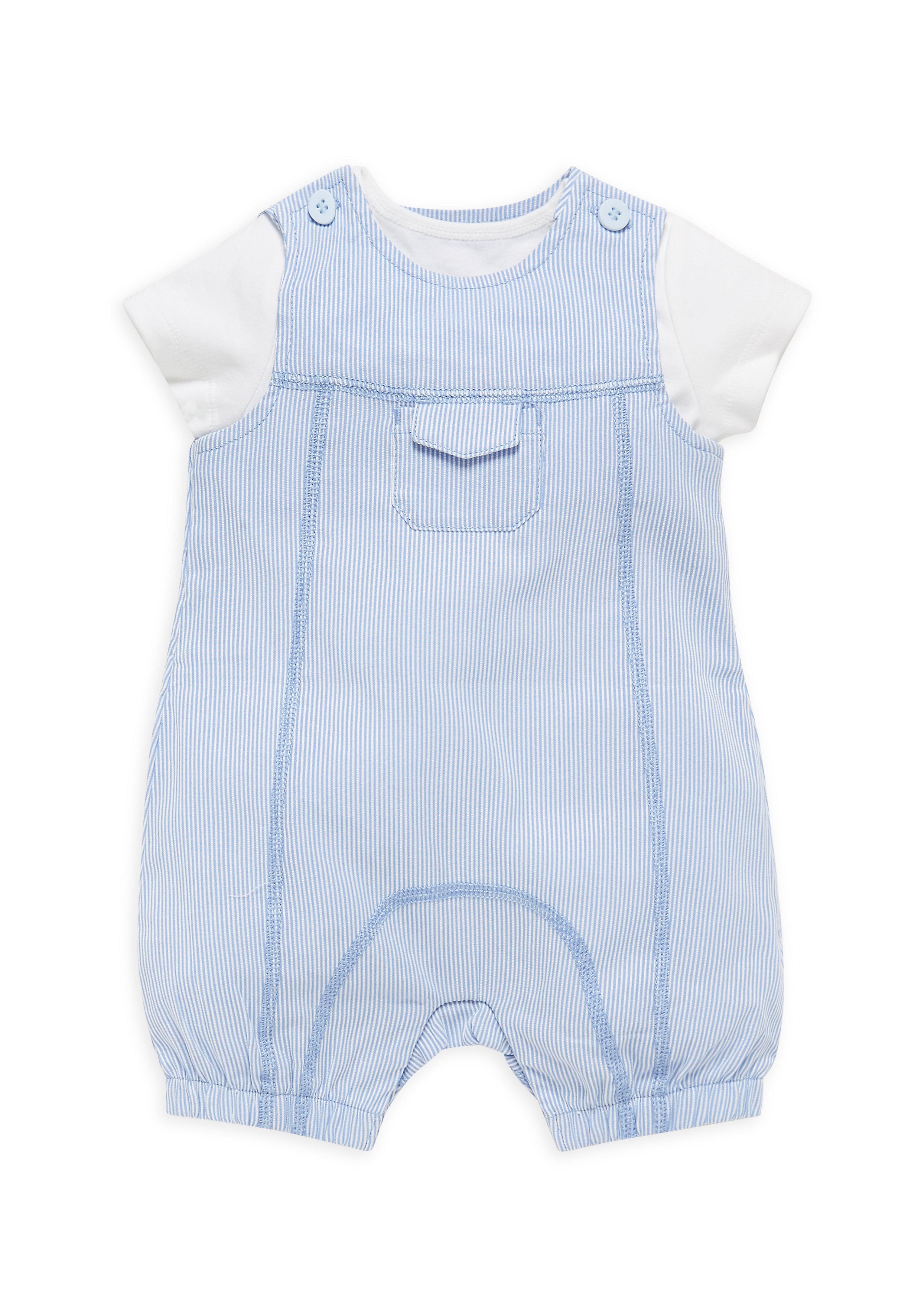 Mothercare | Boys Bibshorts And Bodysuit Set