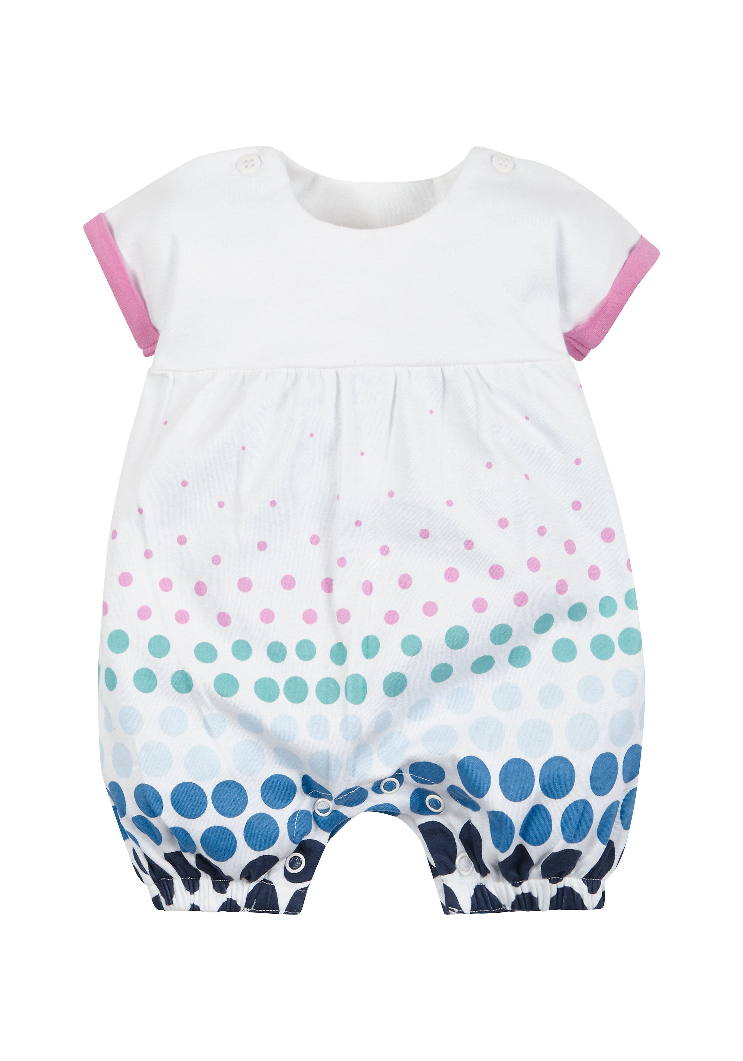 Mothercare | Girls Spotty Print Romper