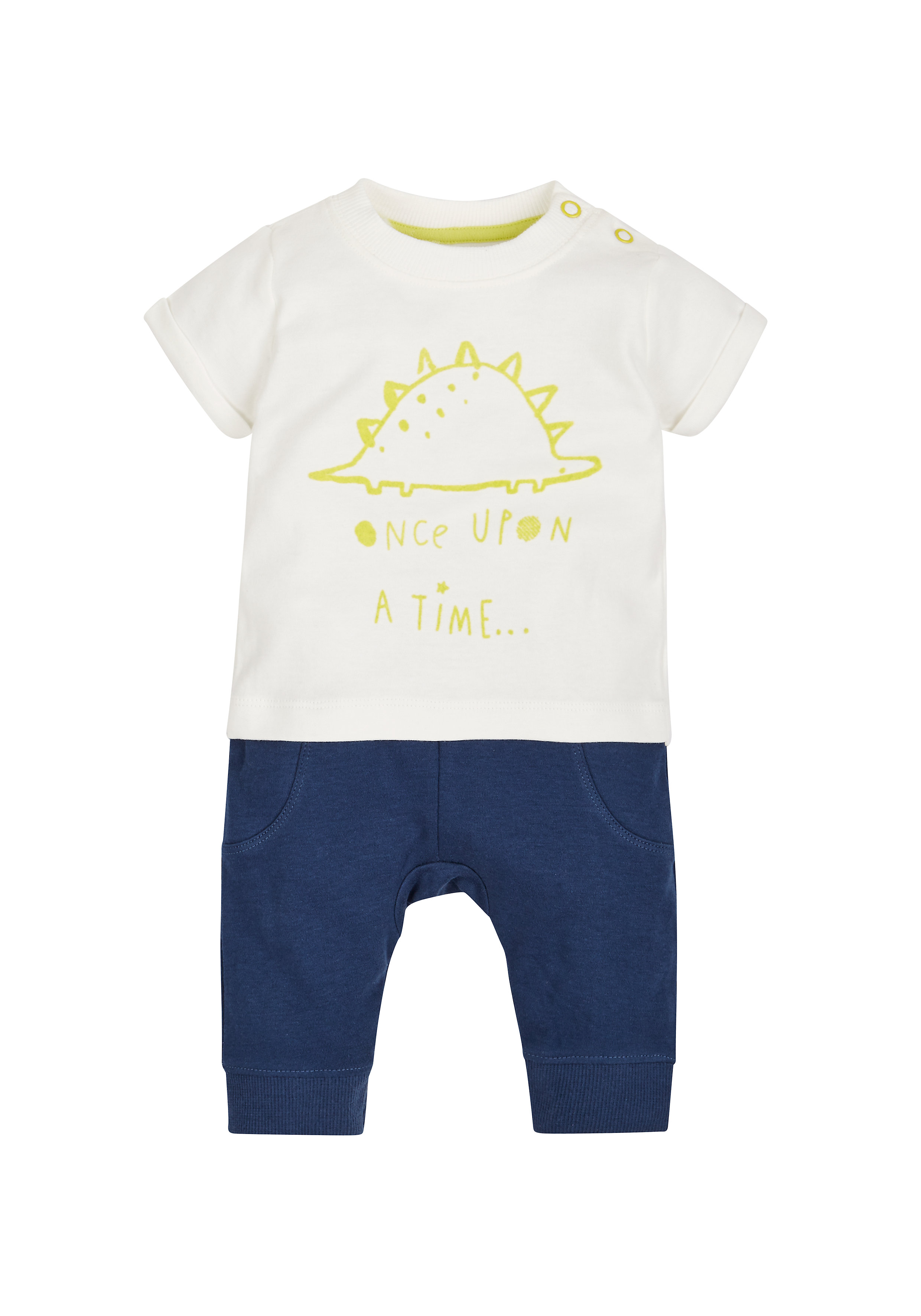 Mothercare | Boys Mock Dino Print Romper