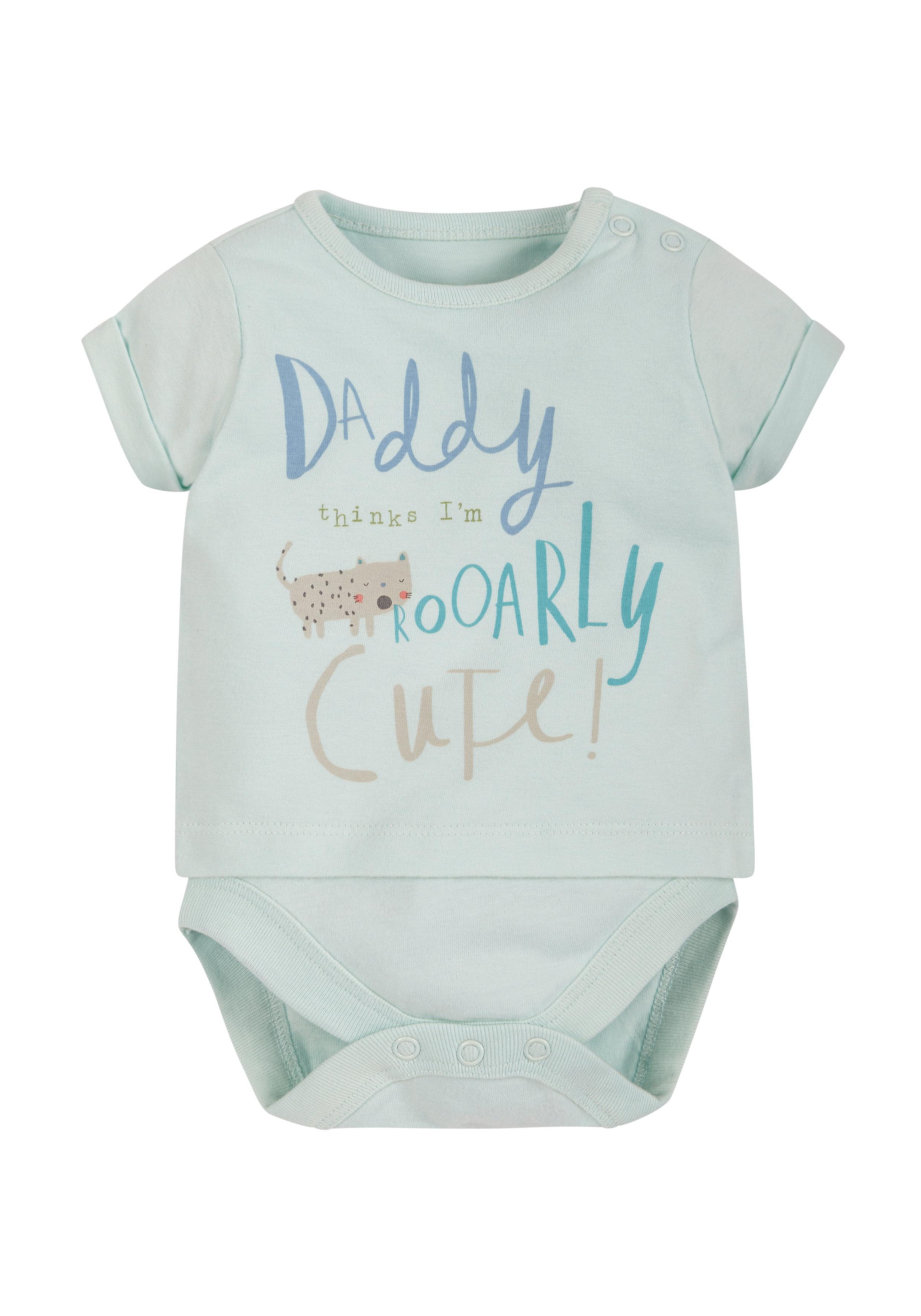 Mothercare   Boys Double Layered T-Shirt Bodysuit