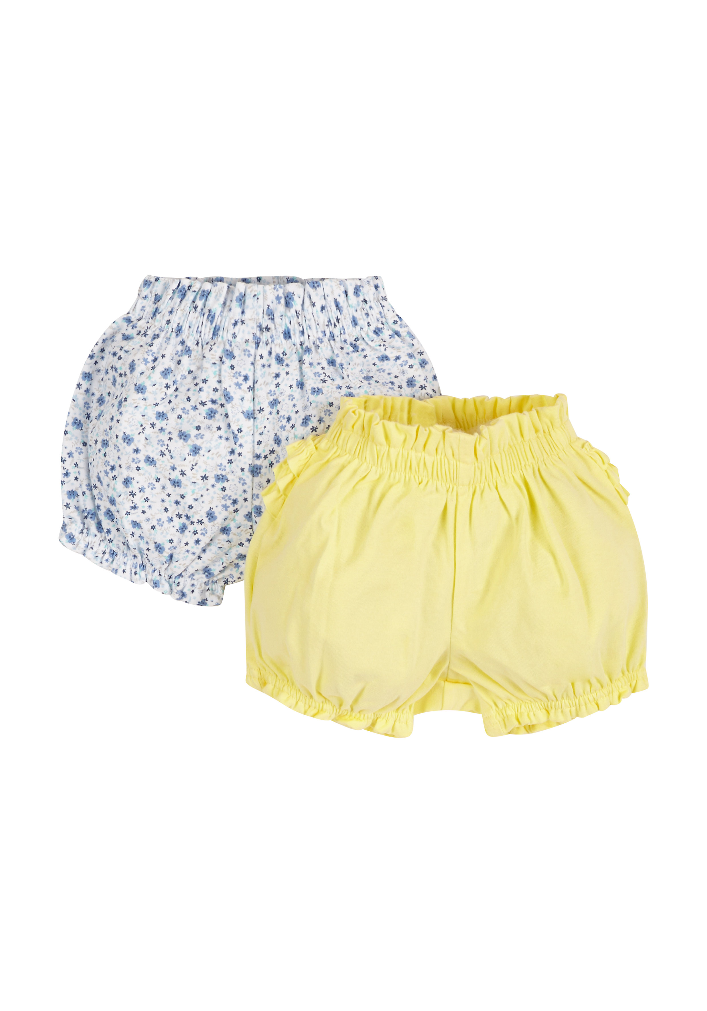 Mothercare | Girls Bloomer Shorts - 2 Pack - Multicolor
