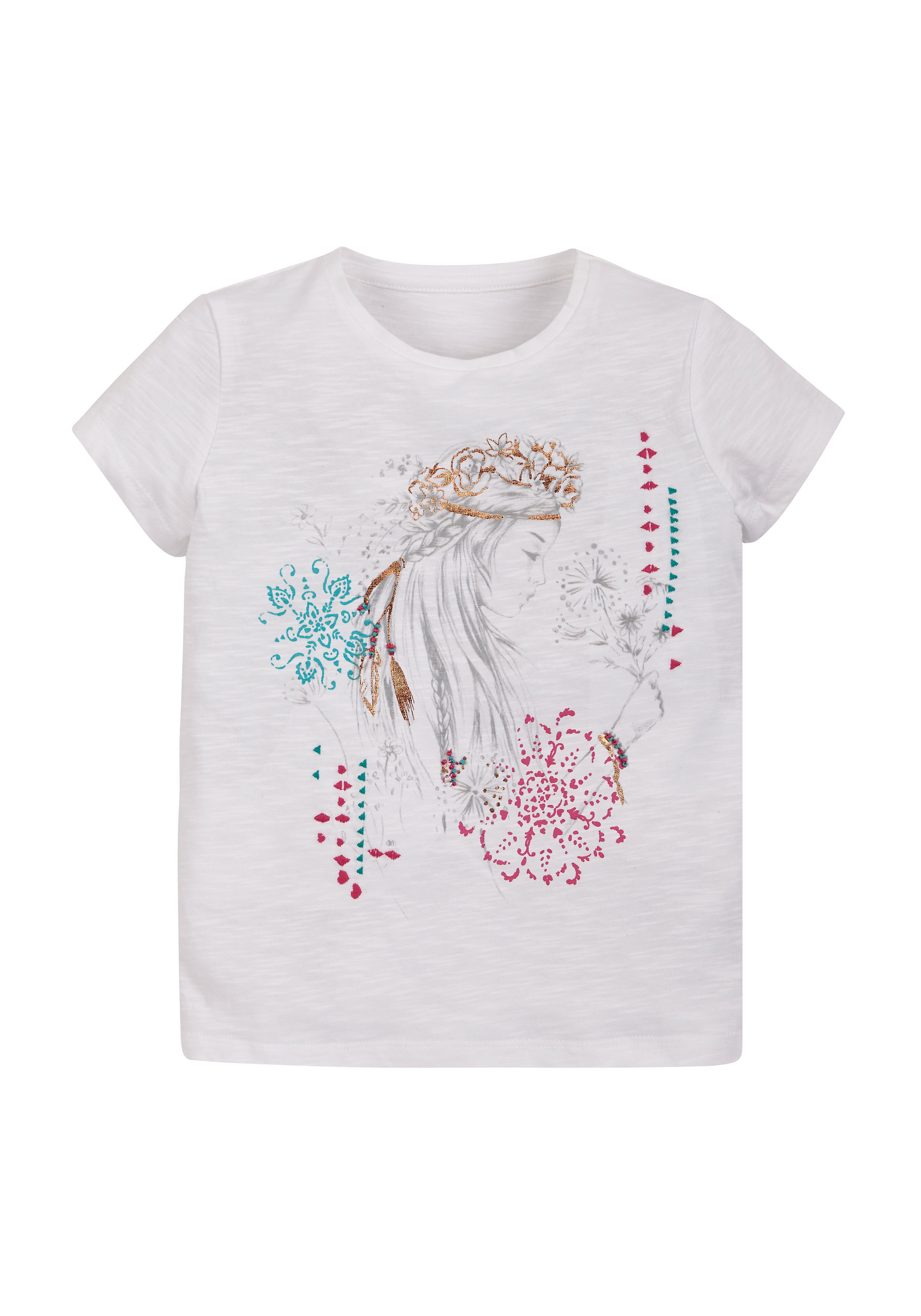 Mothercare | Girls Printed T-Shirt