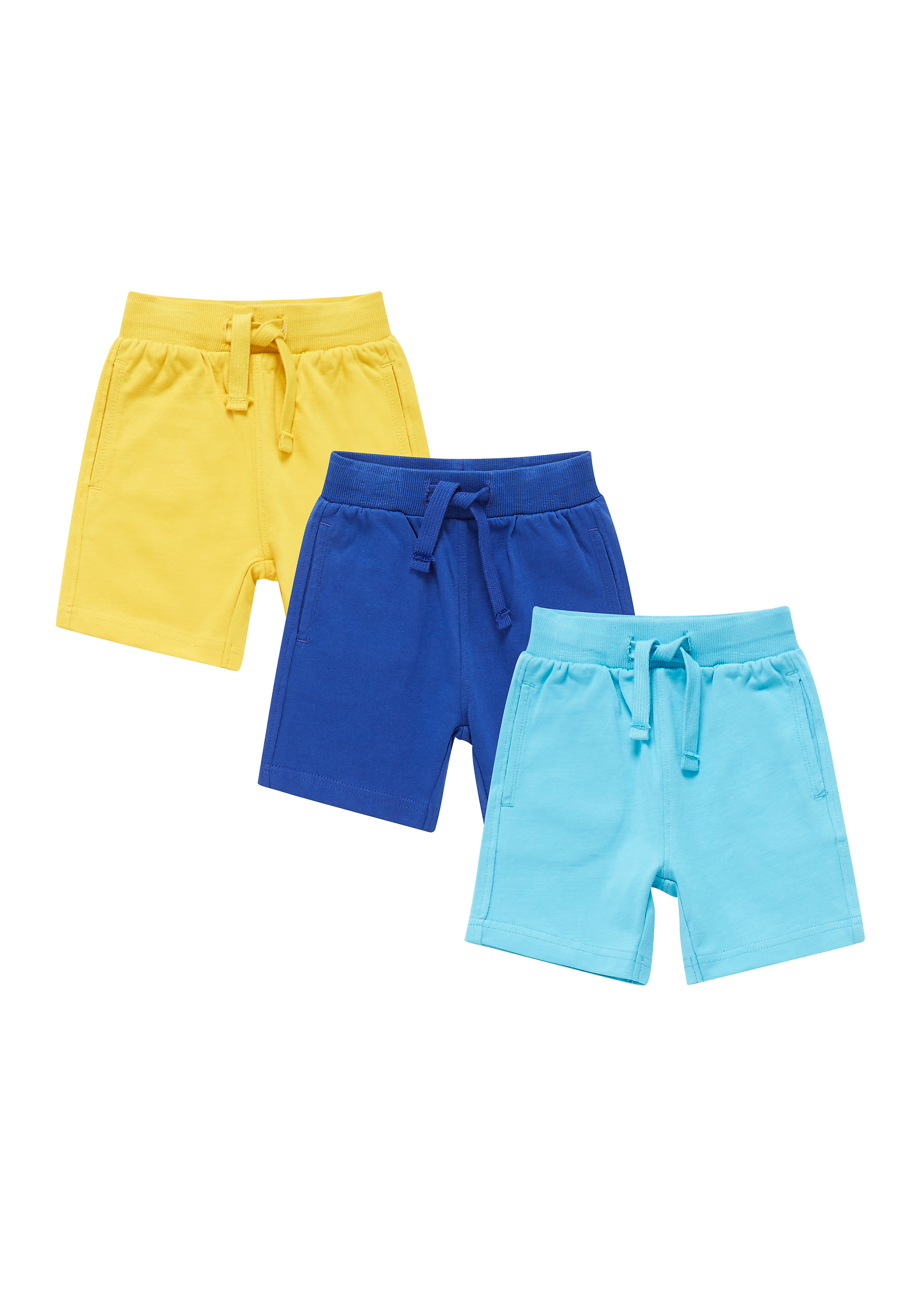 Mothercare | Boys Jersey Shorts - Pack Of 3