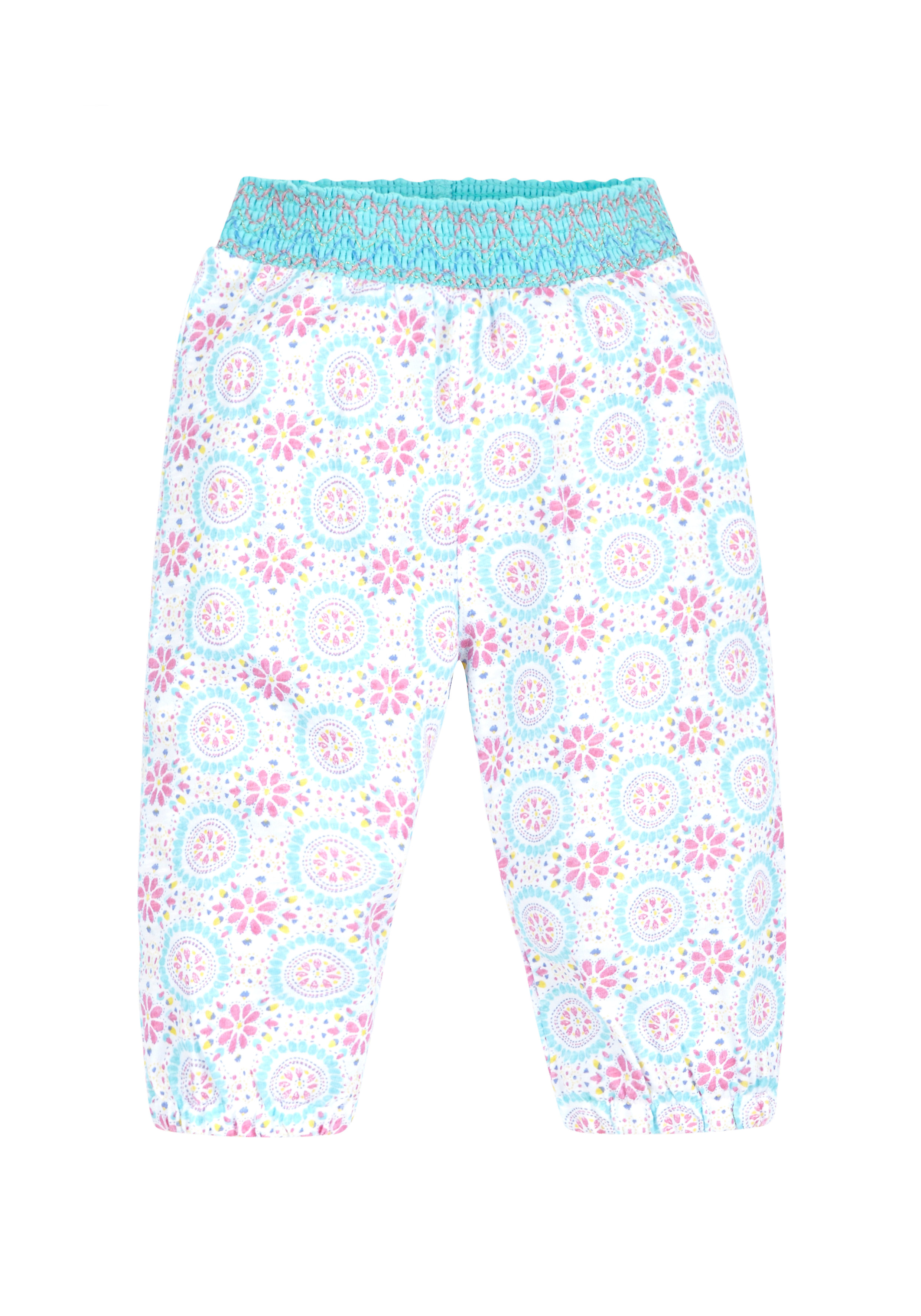 Mothercare | Girls Hareem Trousers - White