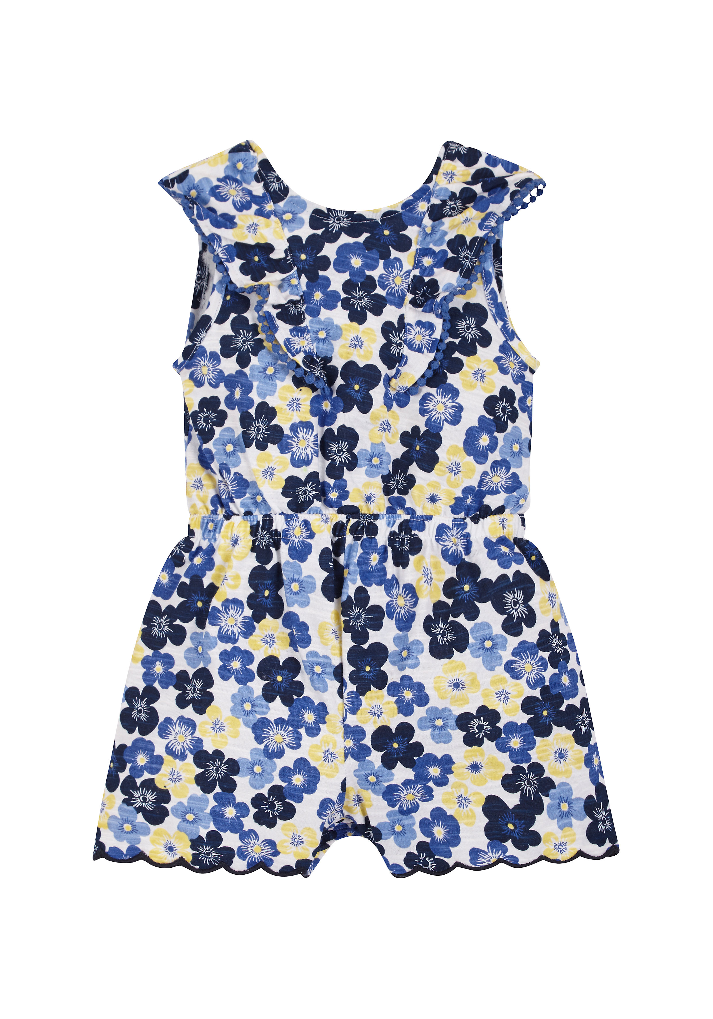 Mothercare   Girls Floral Playsuit