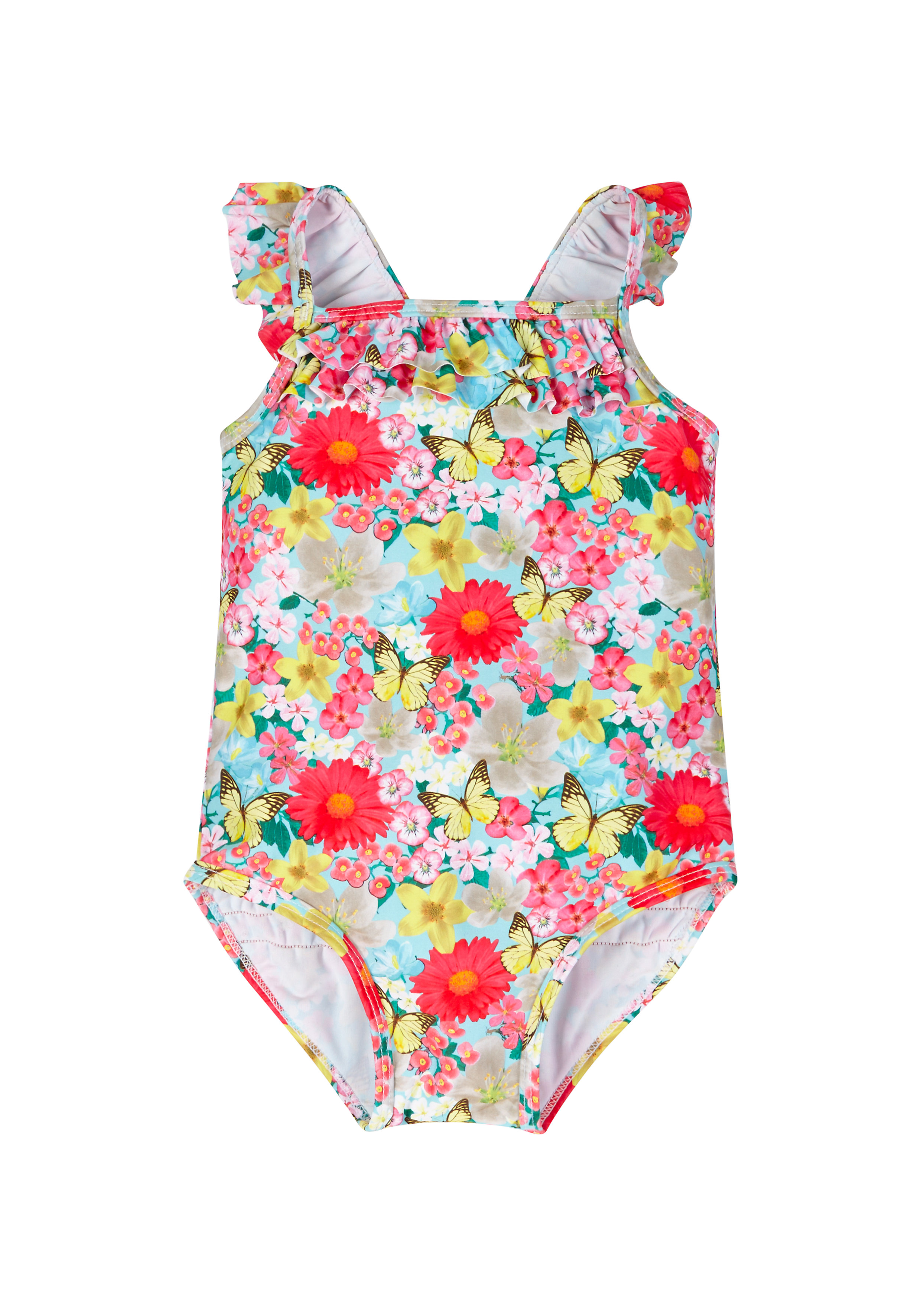 Mothercare | Girls Floral Swimsuit