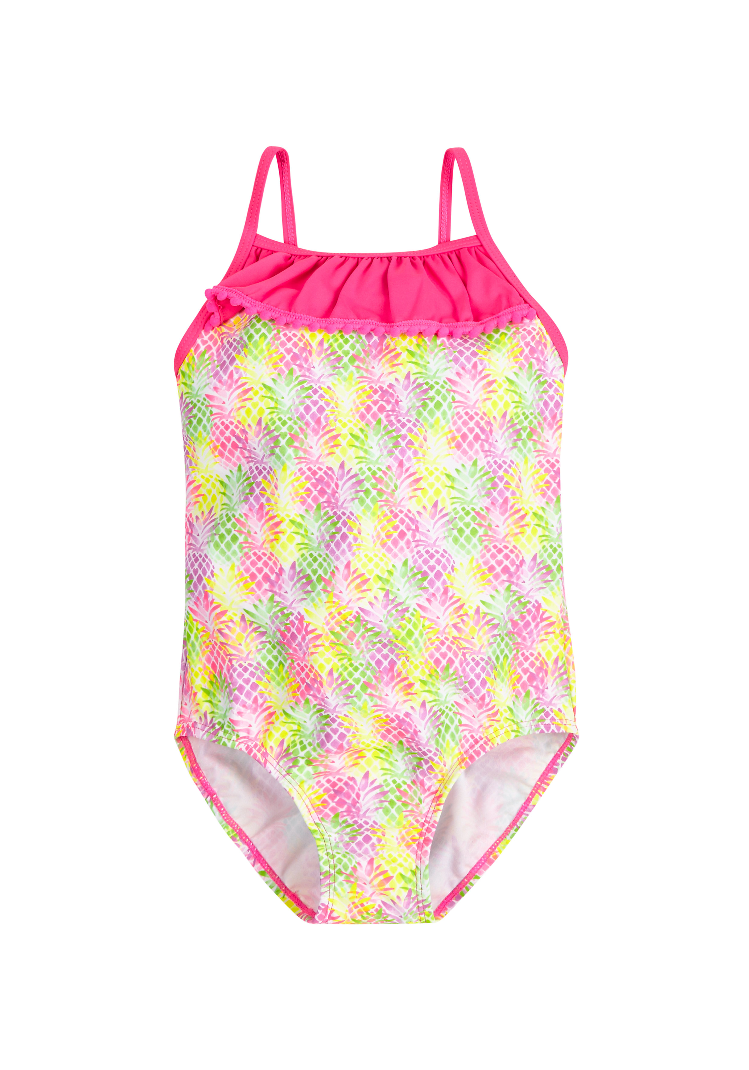 Mothercare | Multicolor Girls Pineapple Swimsuit