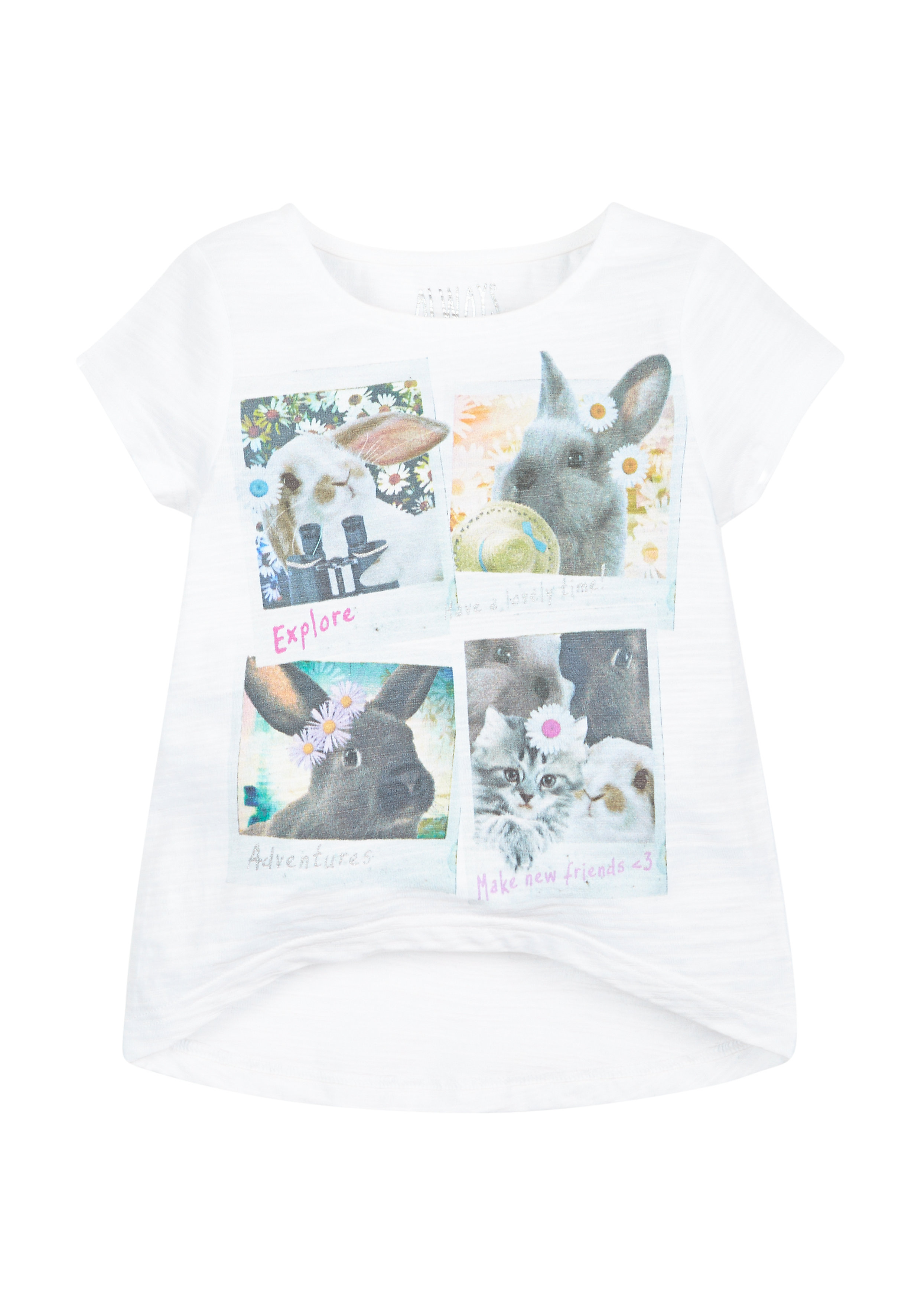 Mothercare | Girls Photographic Bunny T-Shirt