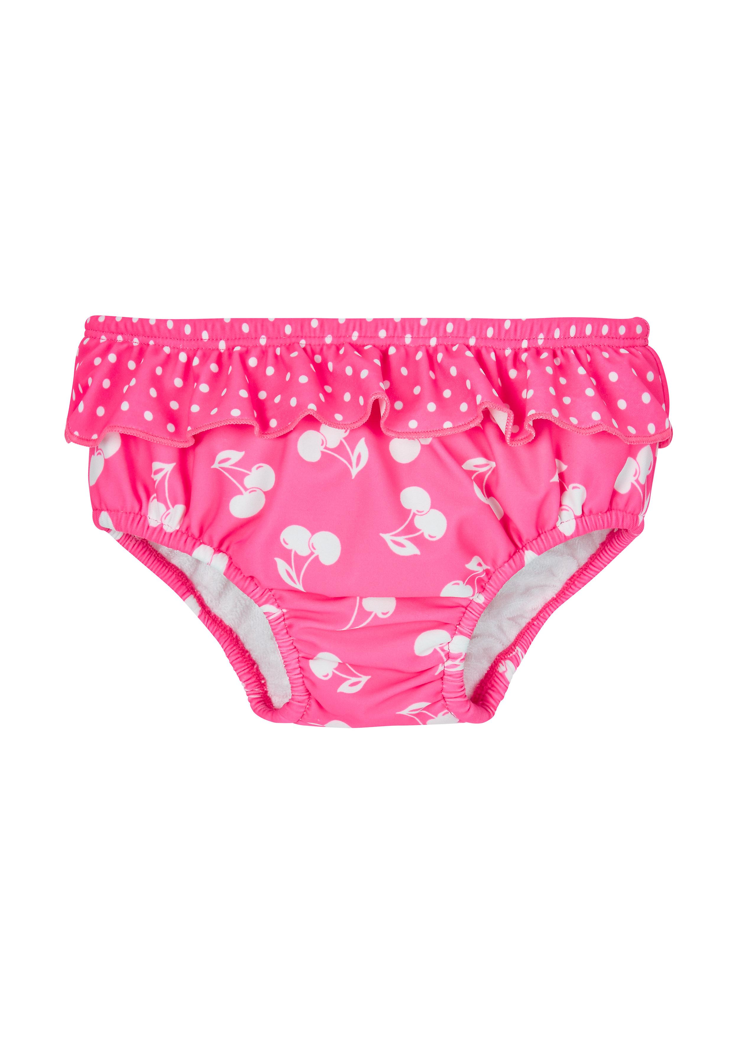 Mothercare   Pink Girls Cherry Swim Nappy