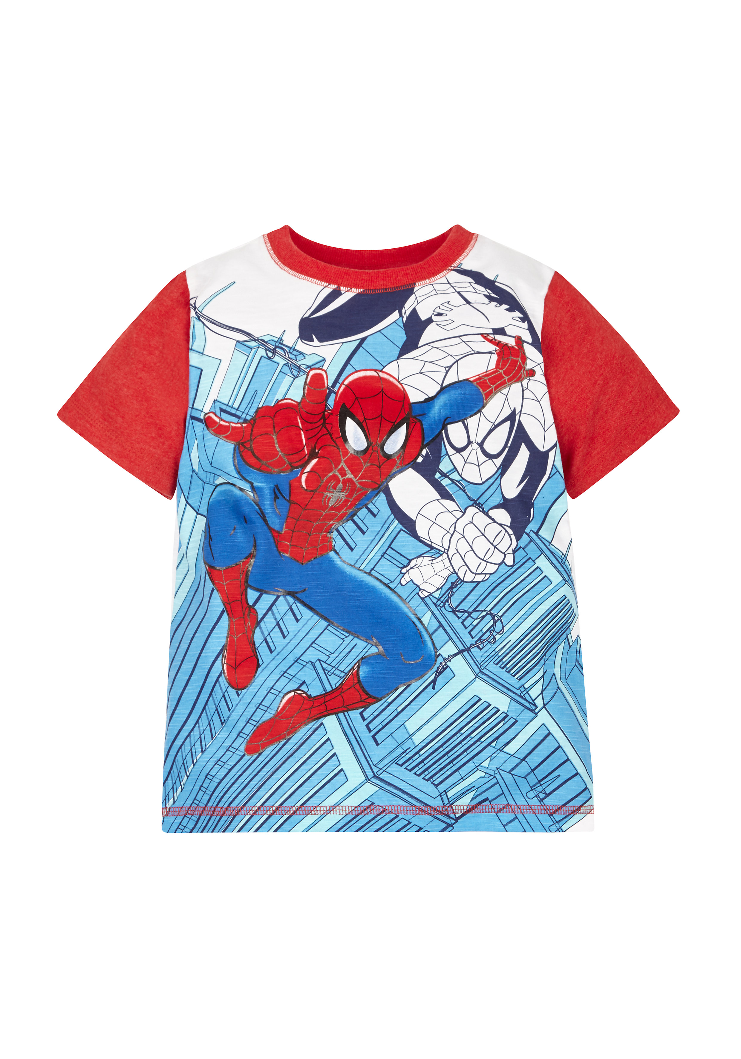 Mothercare | Boys Marvel Spiderman T-Shirt - Red