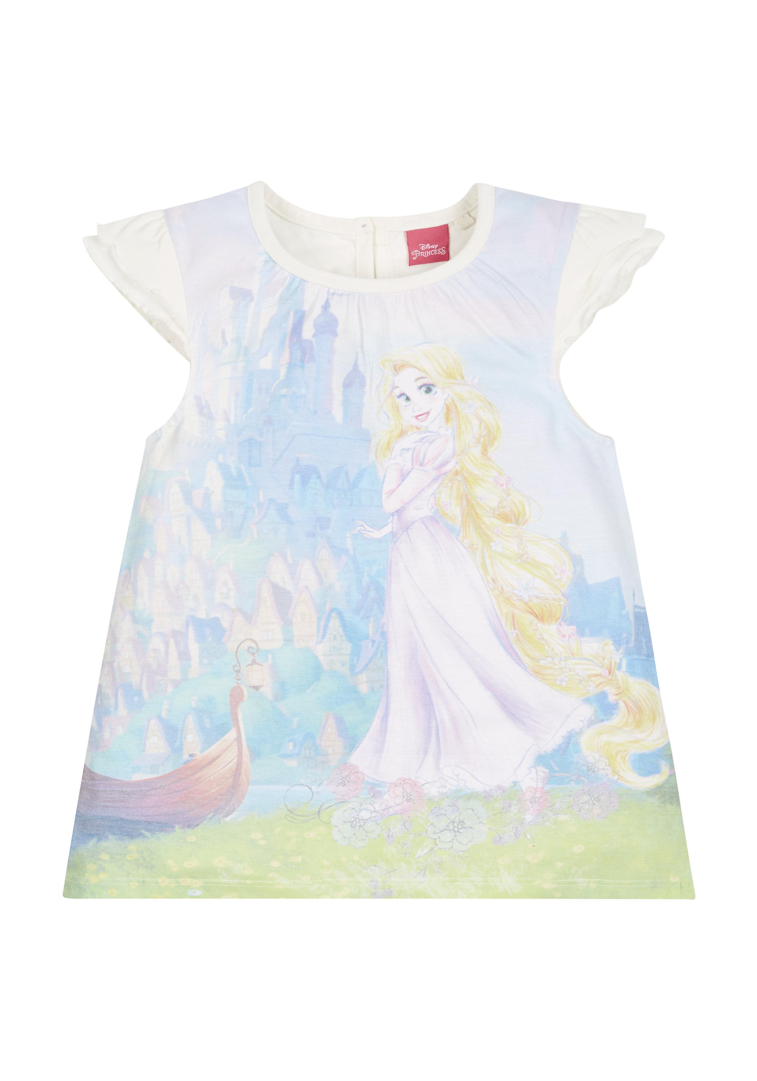 Mothercare   Girls Disney Rapunzel Sublimation T-Shirt - Multicolor