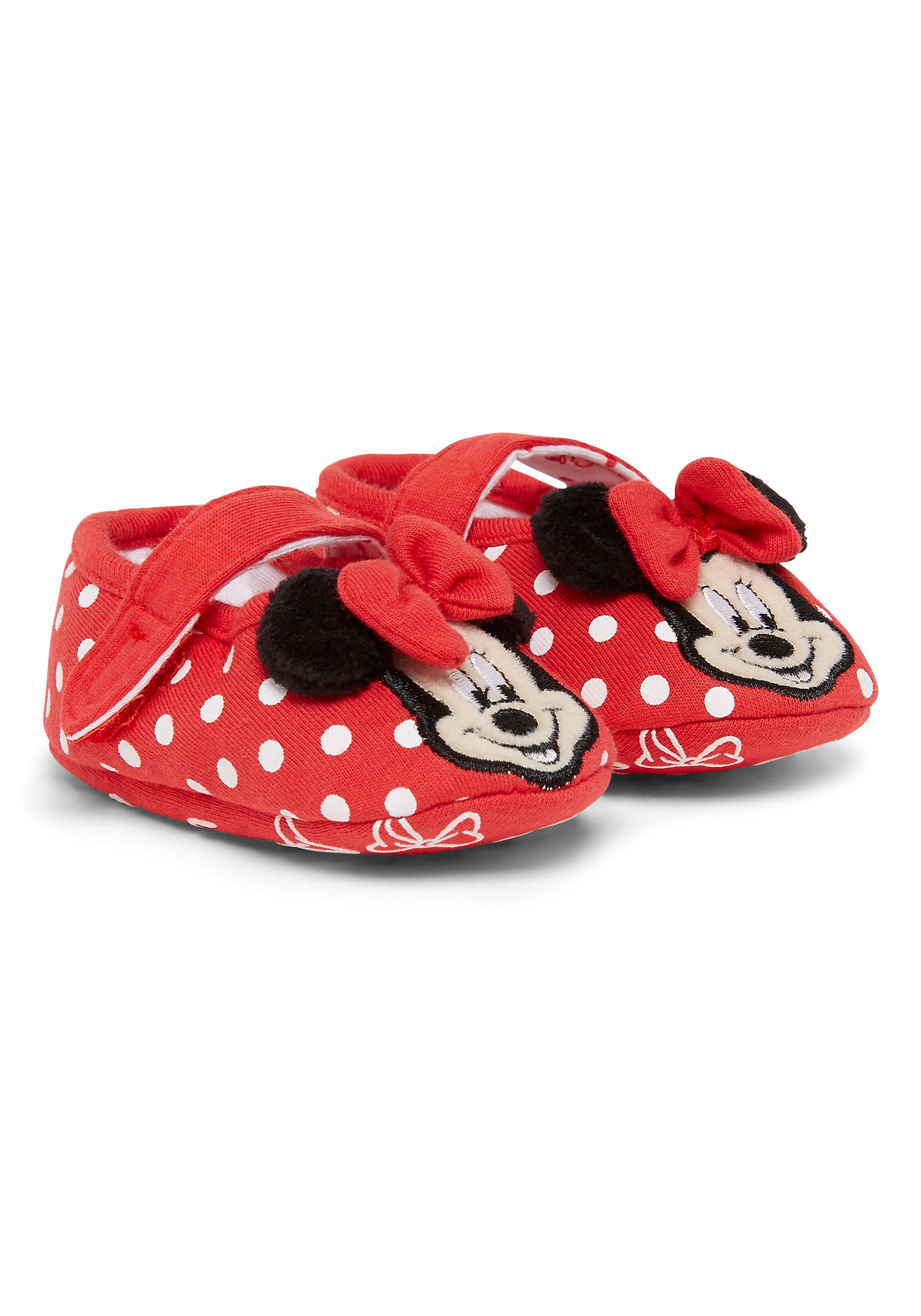 Mothercare | Girls Booties Disney Minnie Mouse - Red