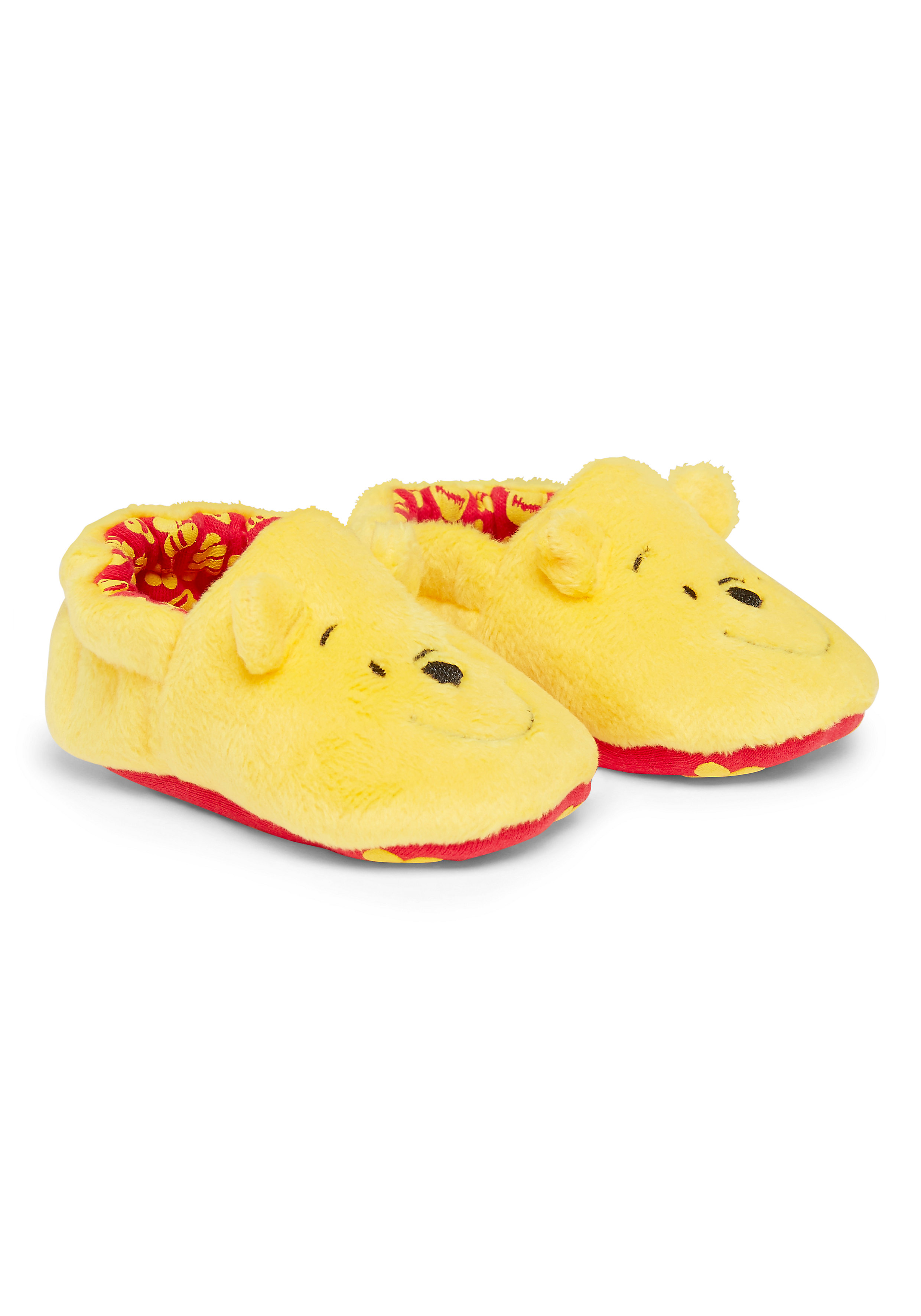Mothercare | Unisex Disney Winnie The Pooh Booties - Yellow