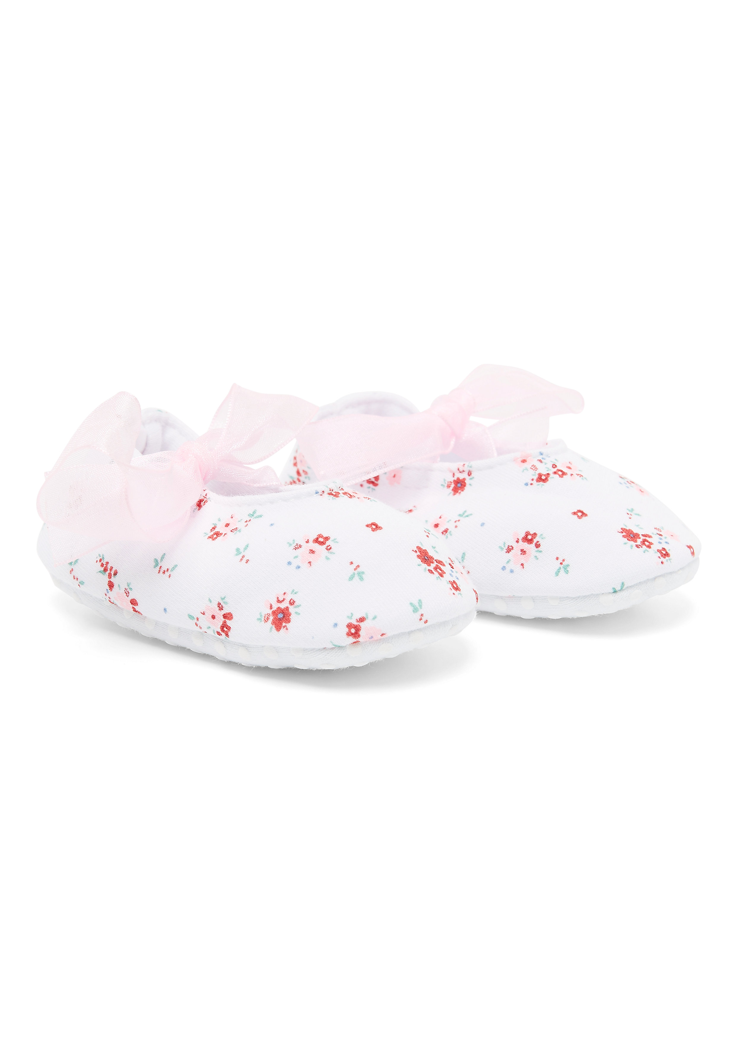 Mothercare | Girls Floral Baggies - Pink