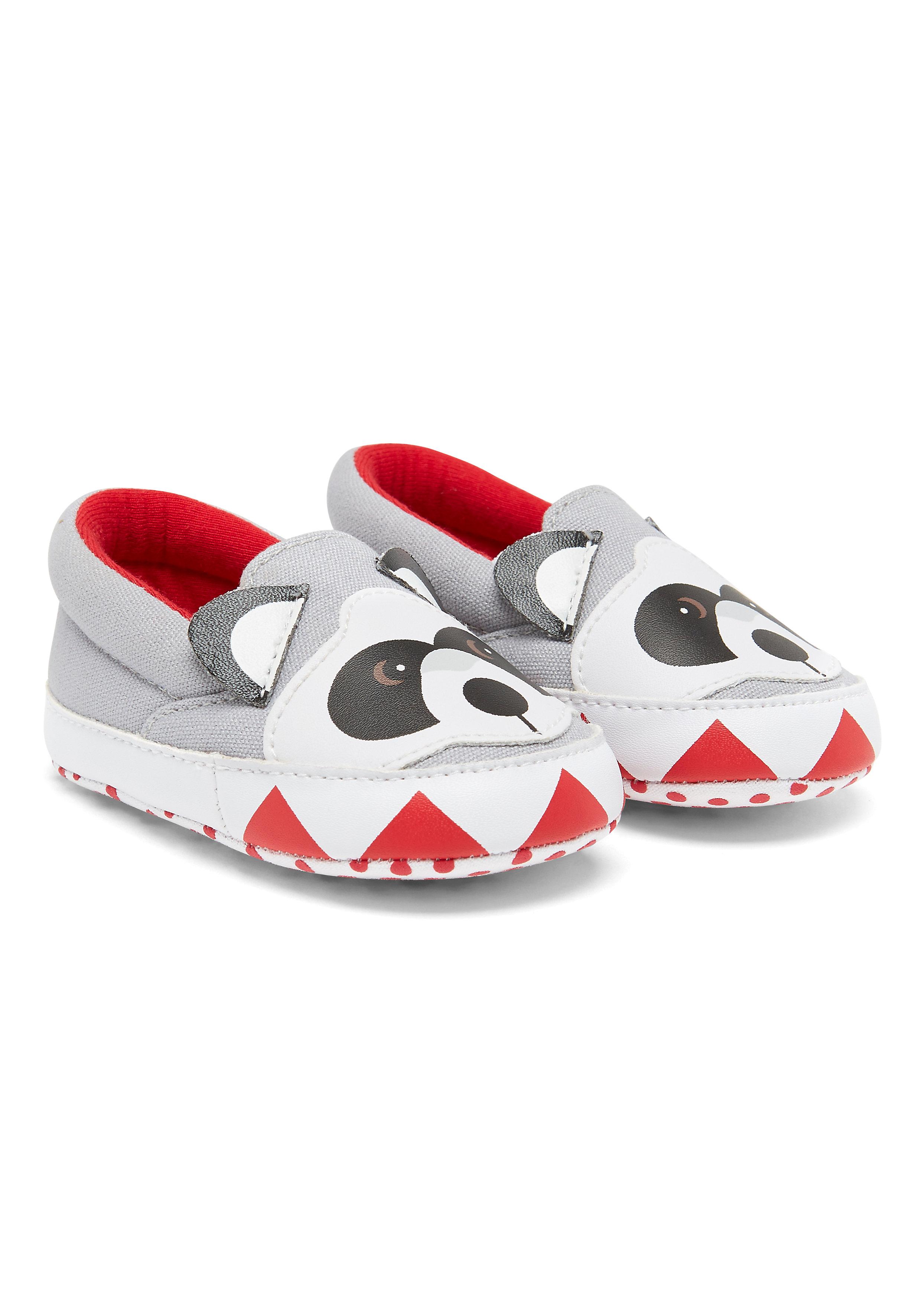 Mothercare | Boys Raccoon Shoes - Grey