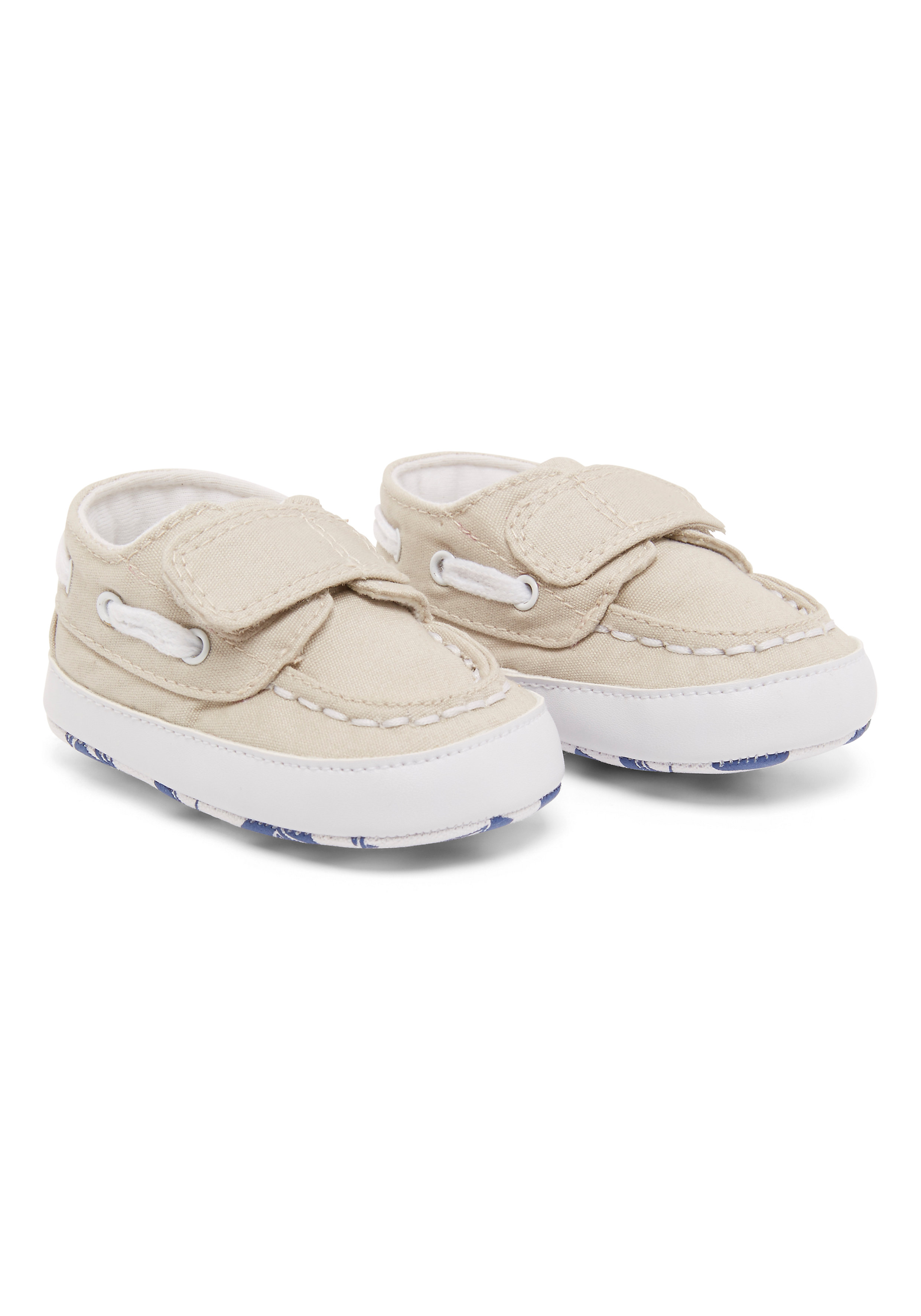 Mothercare   Boys Boat Shoes - Beige