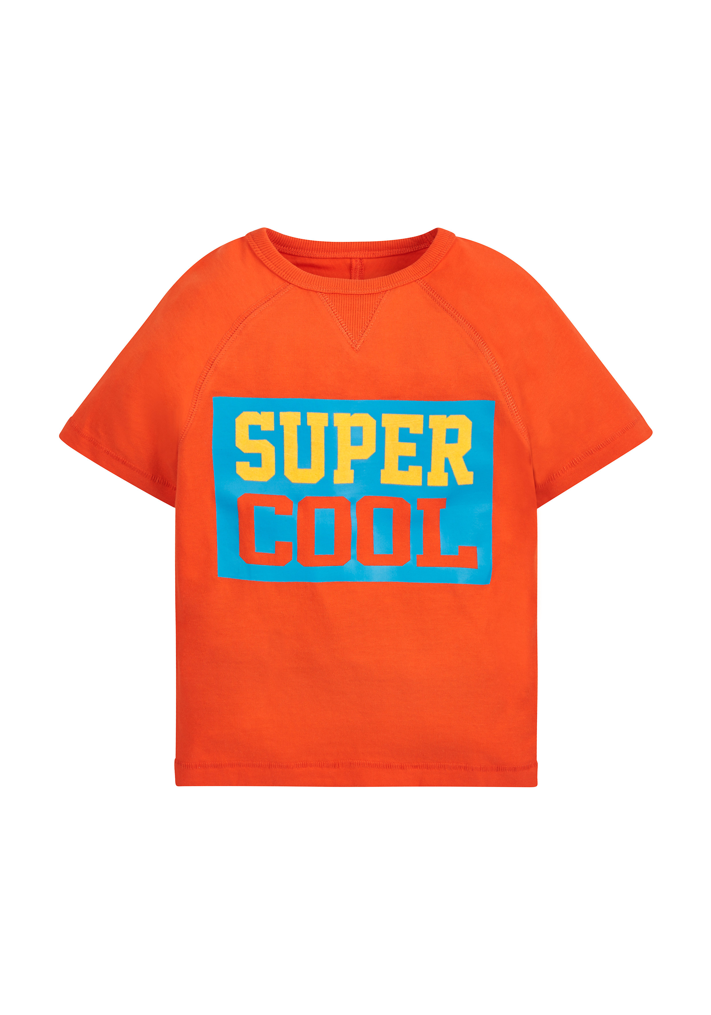 Mothercare   Boys Half Sleeves T-Shirt Slogan Print - Orange