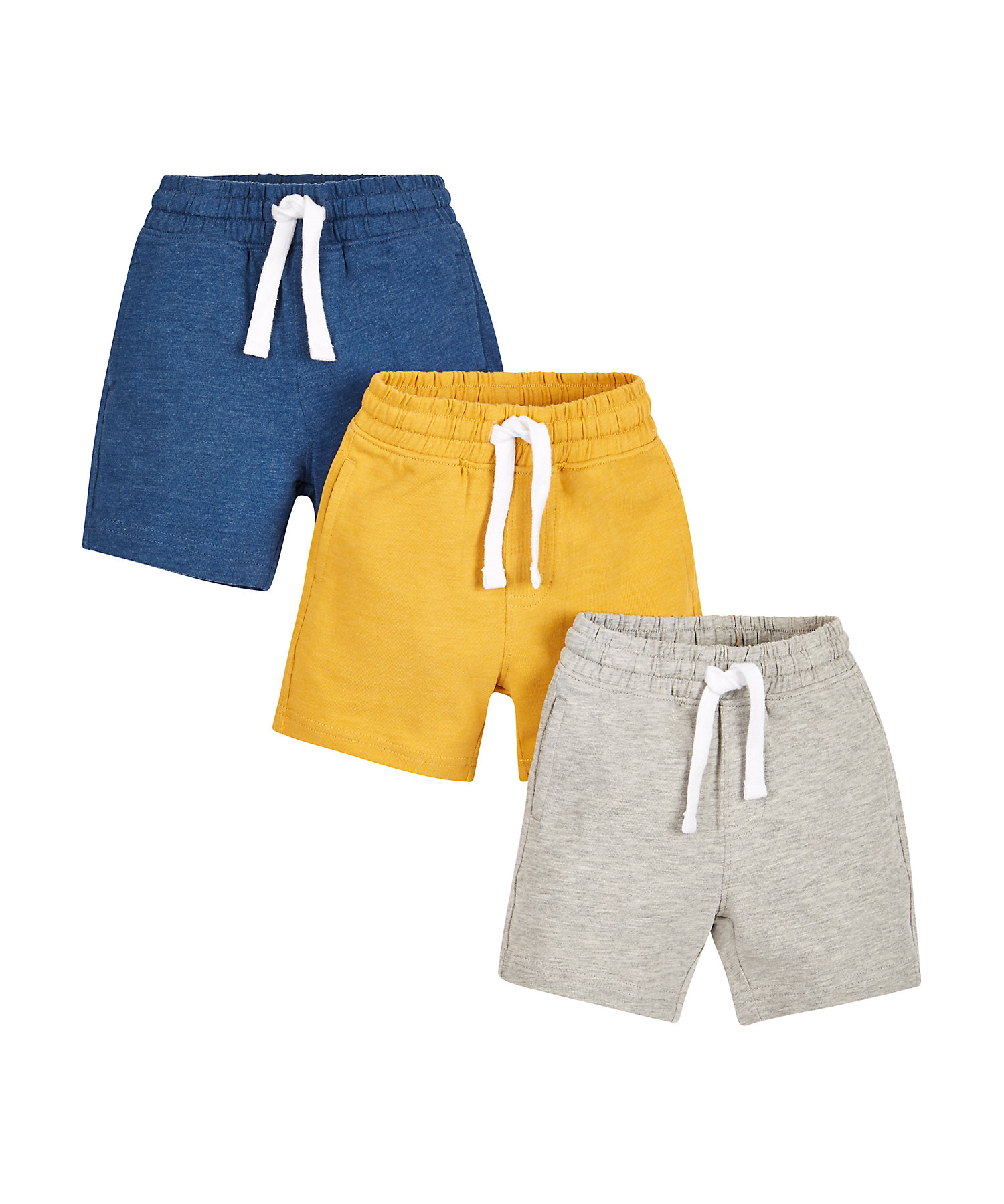 Mothercare | Boys Knitted Shorts - Pack Of 3 - Multicolor