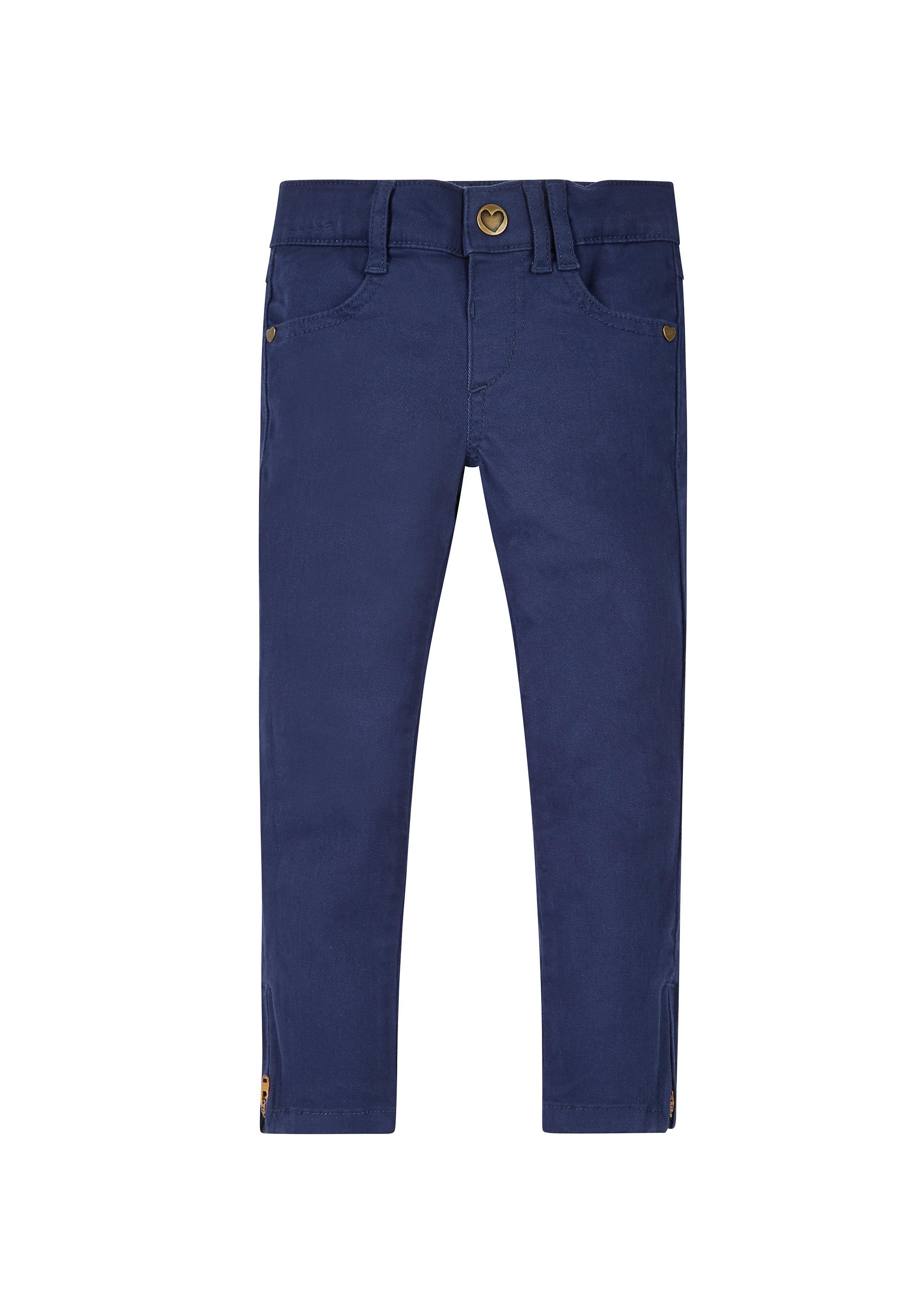 Mothercare | Girls Twill Trousers - Navy