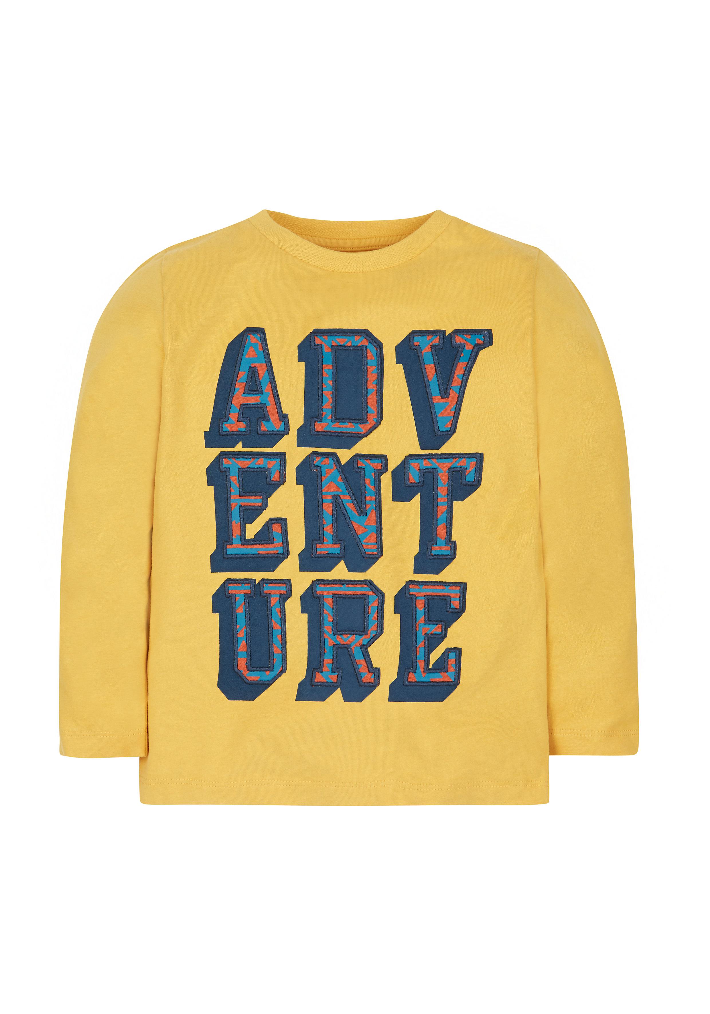 Mothercare   Boys Adventure T-Shirt - Yellow
