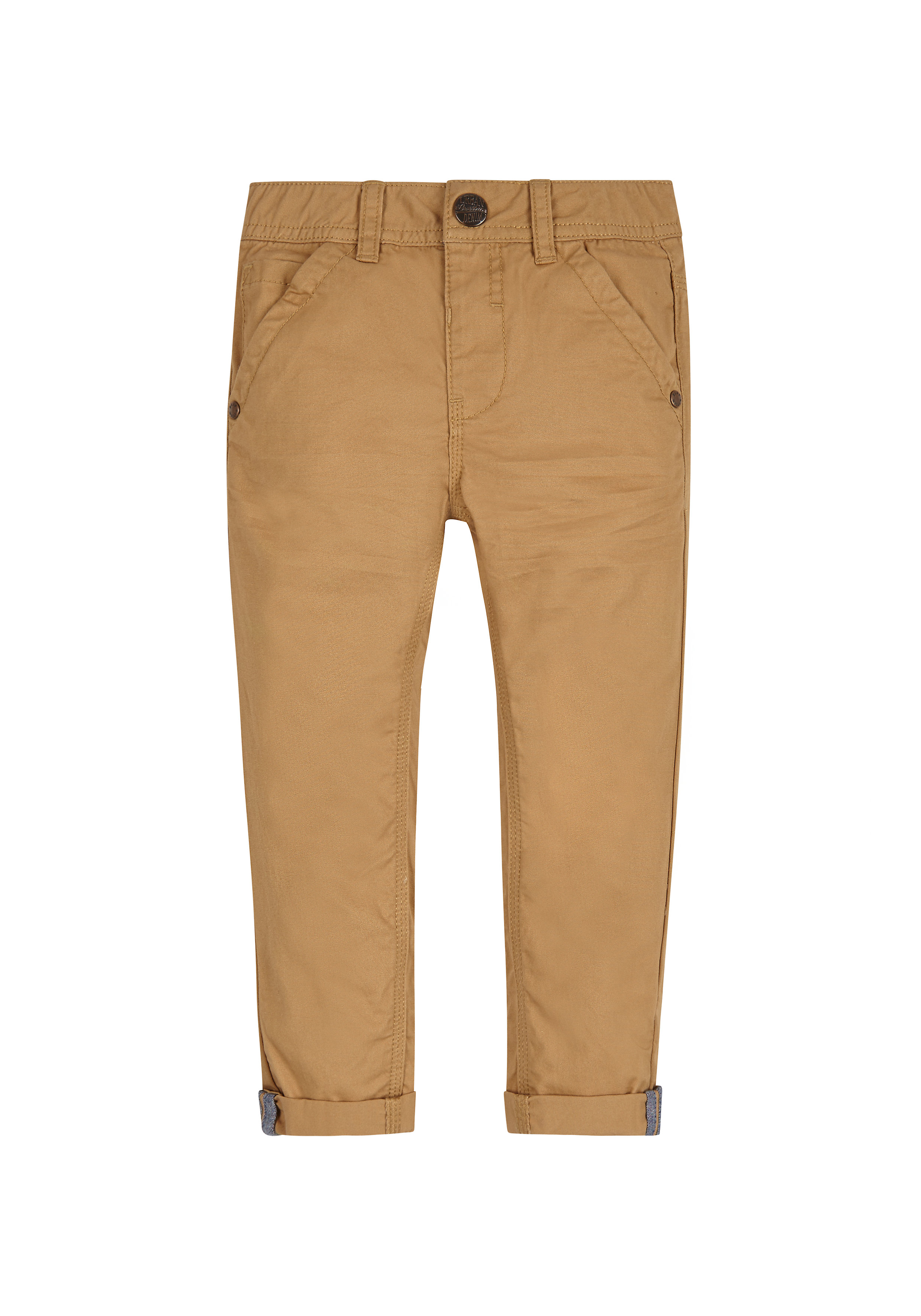 Mothercare | Boys Twill Chino Trousers - Brown