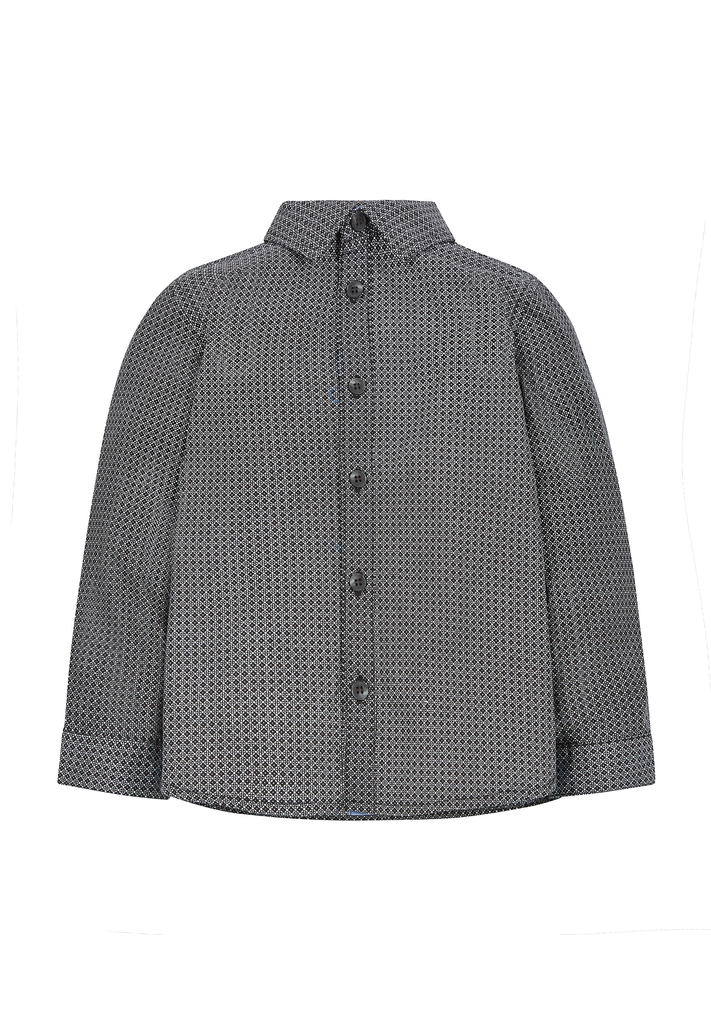 Mothercare | Boys Geo Shirt - Black