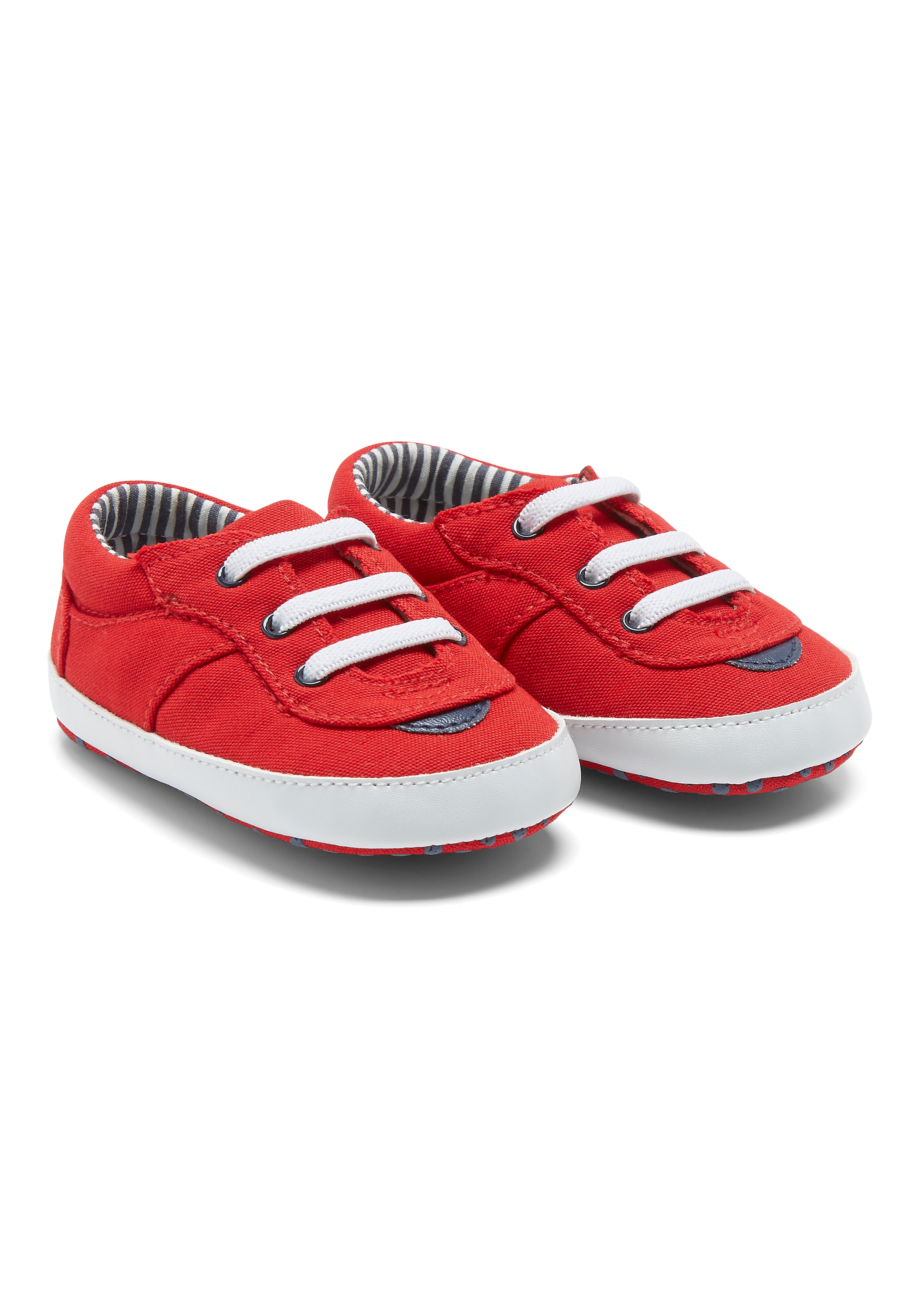Mothercare | Boys Red Canvas