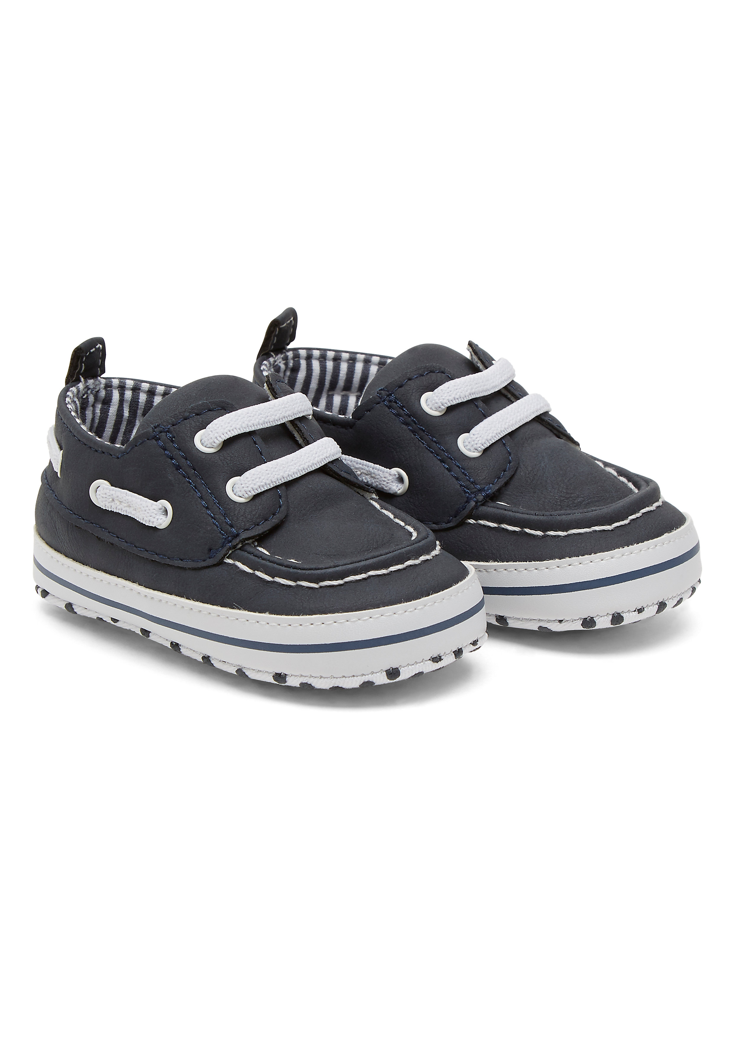 Mothercare   Navy Boys Navy Boat Shoes