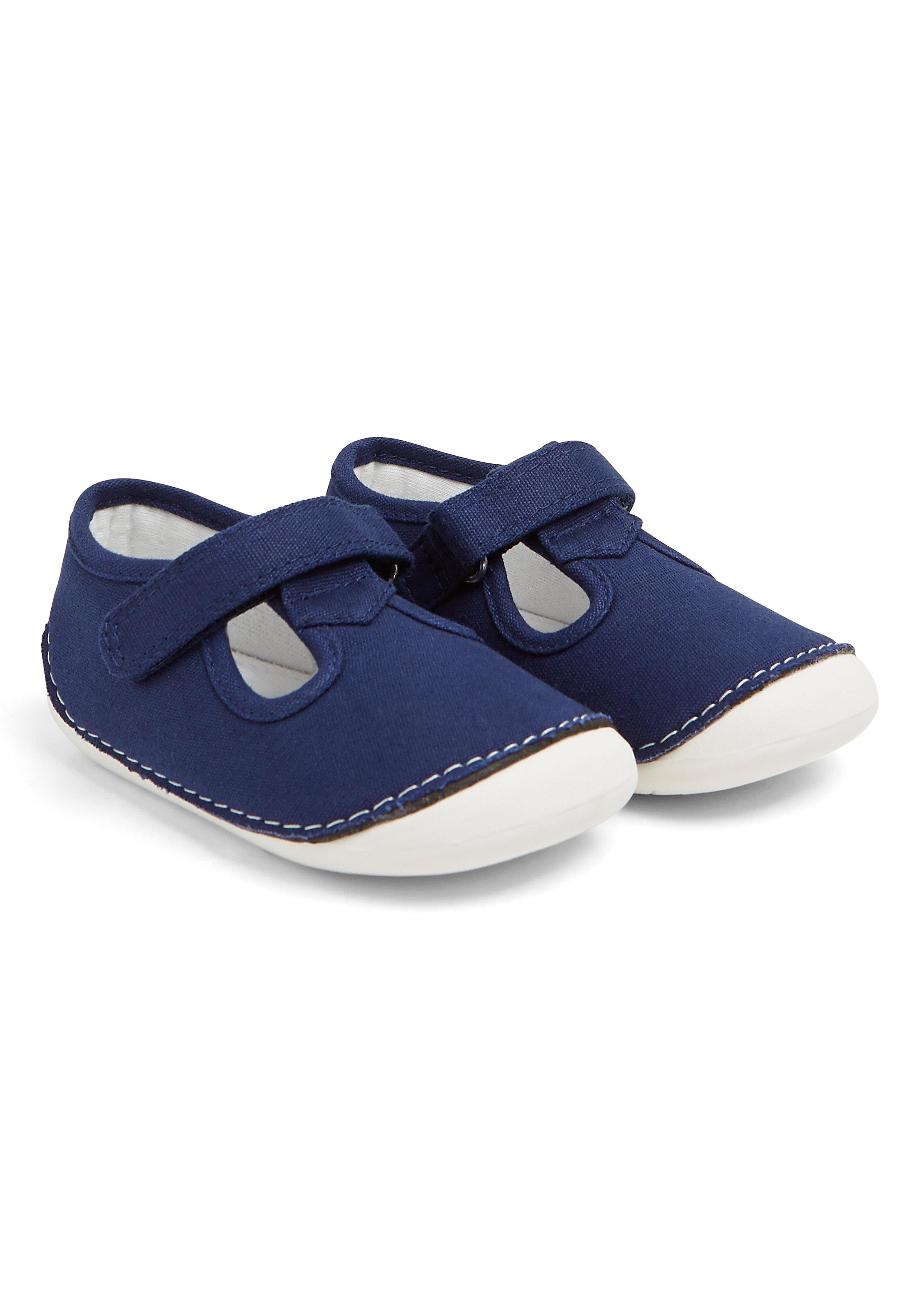 Mothercare   Boys Crawler Shoes - Navy