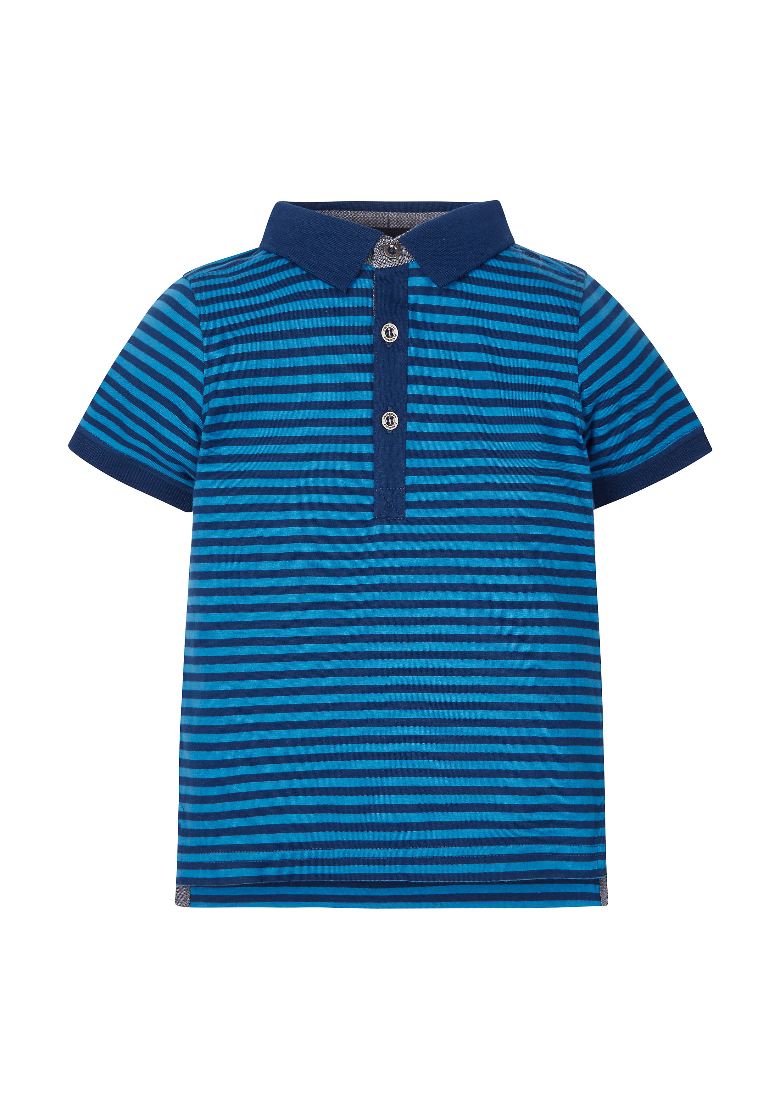 Mothercare | Boys Stripe Polo T-Shirt - Blue