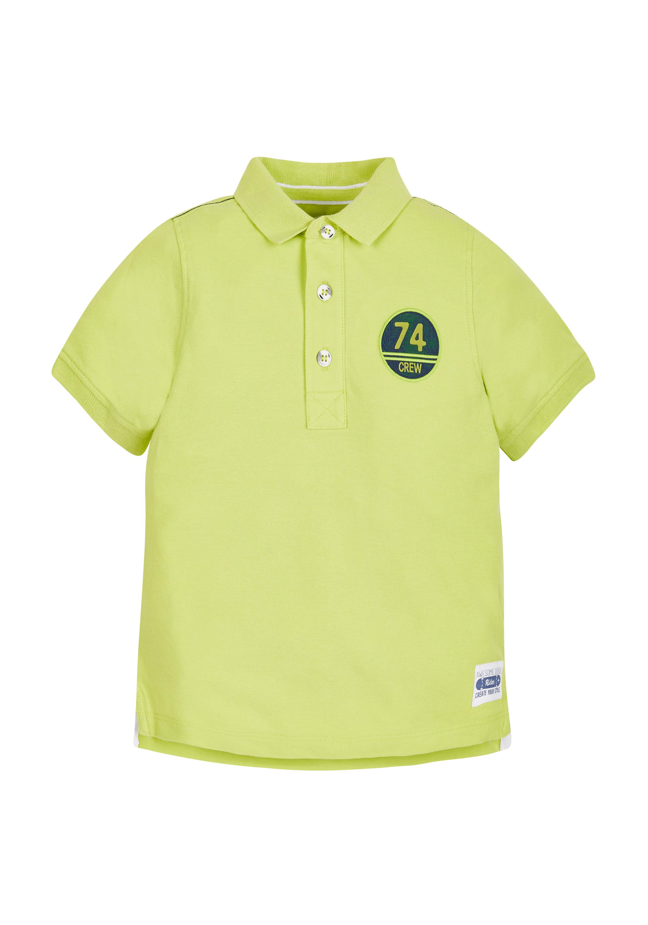 Mothercare | Boys 74 Crew Polo Shirt - Lime