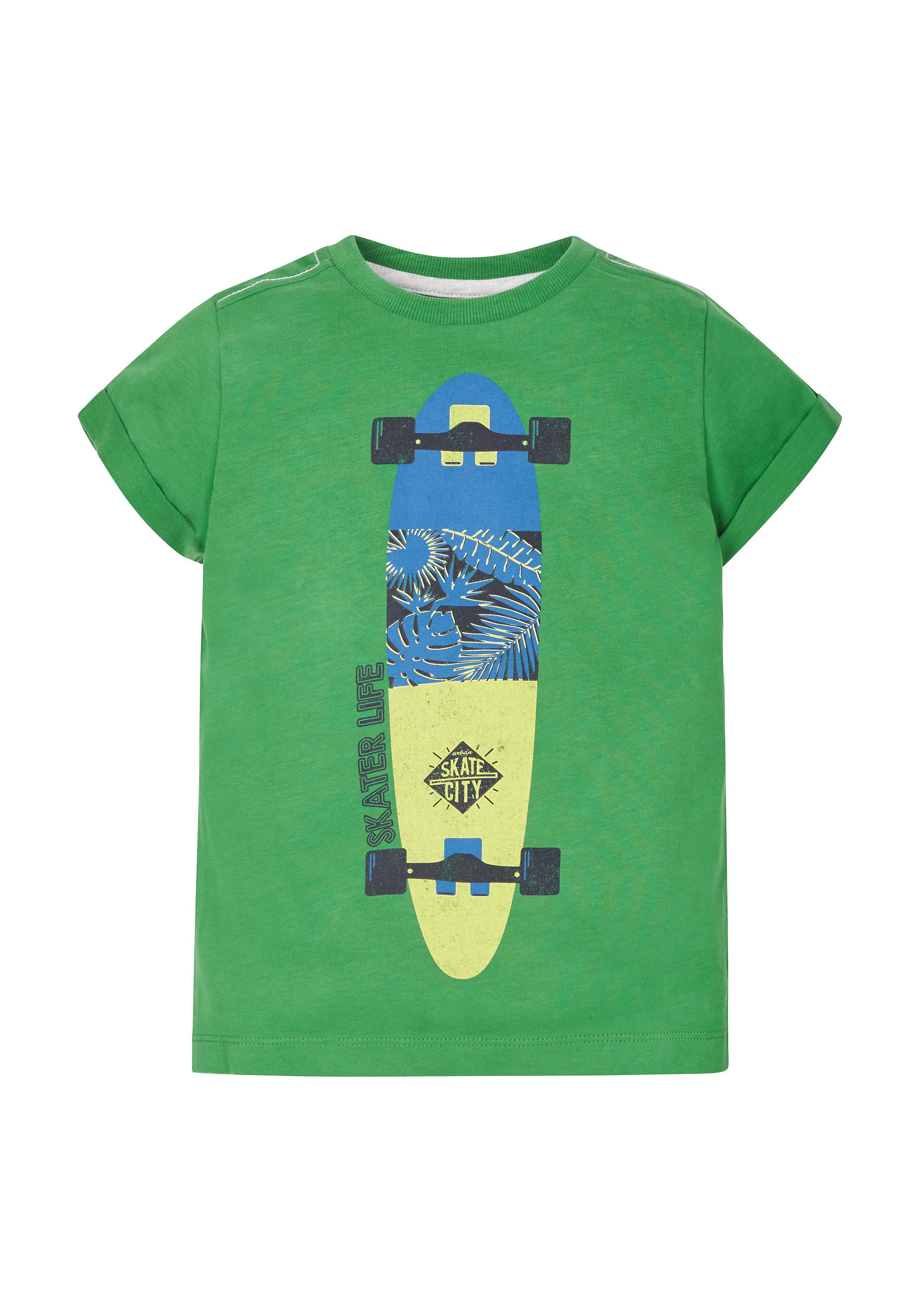 Mothercare | Boys Skater Life T-Shirt - Green