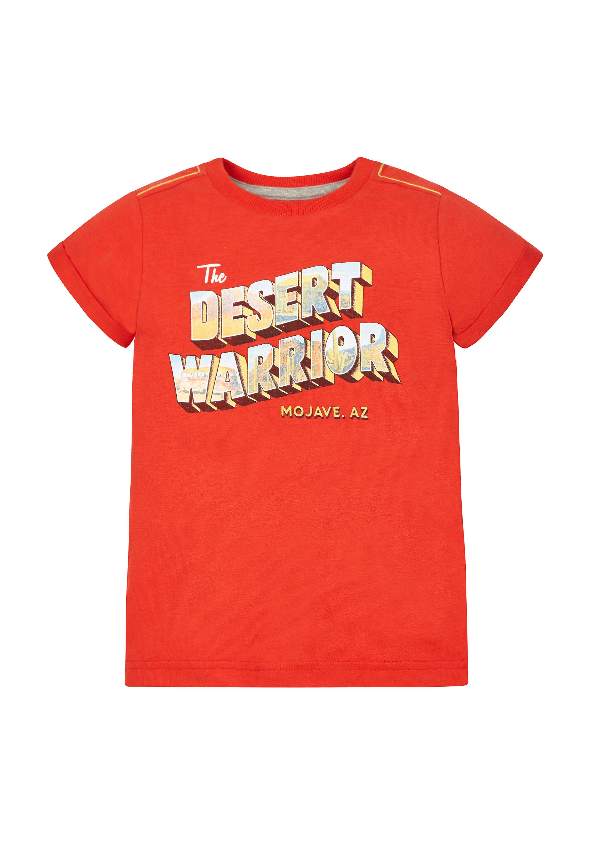 Mothercare | Boys Desert Warrior T-Shirt - Red