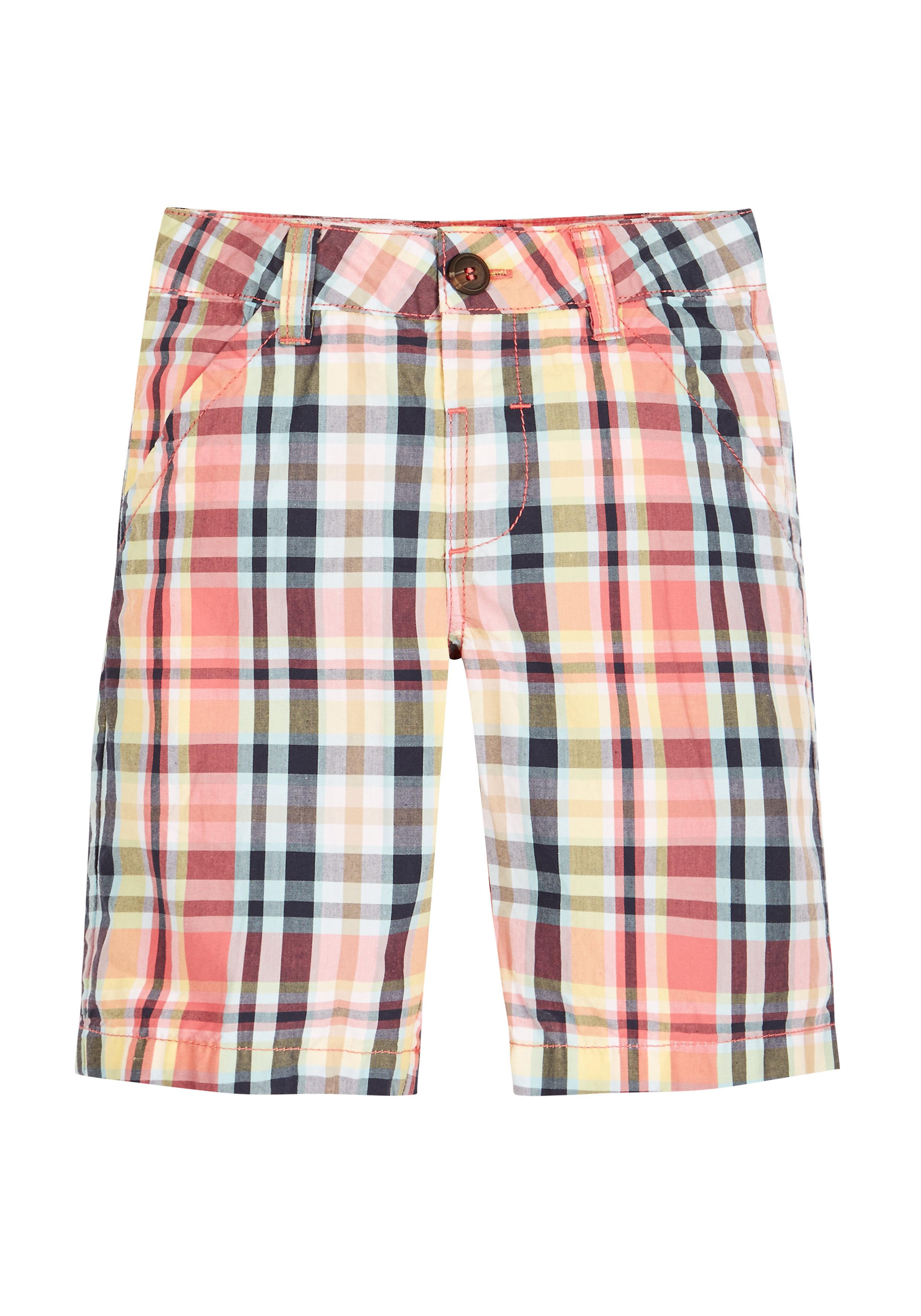 Mothercare | Boys Check Shorts - Multicolor