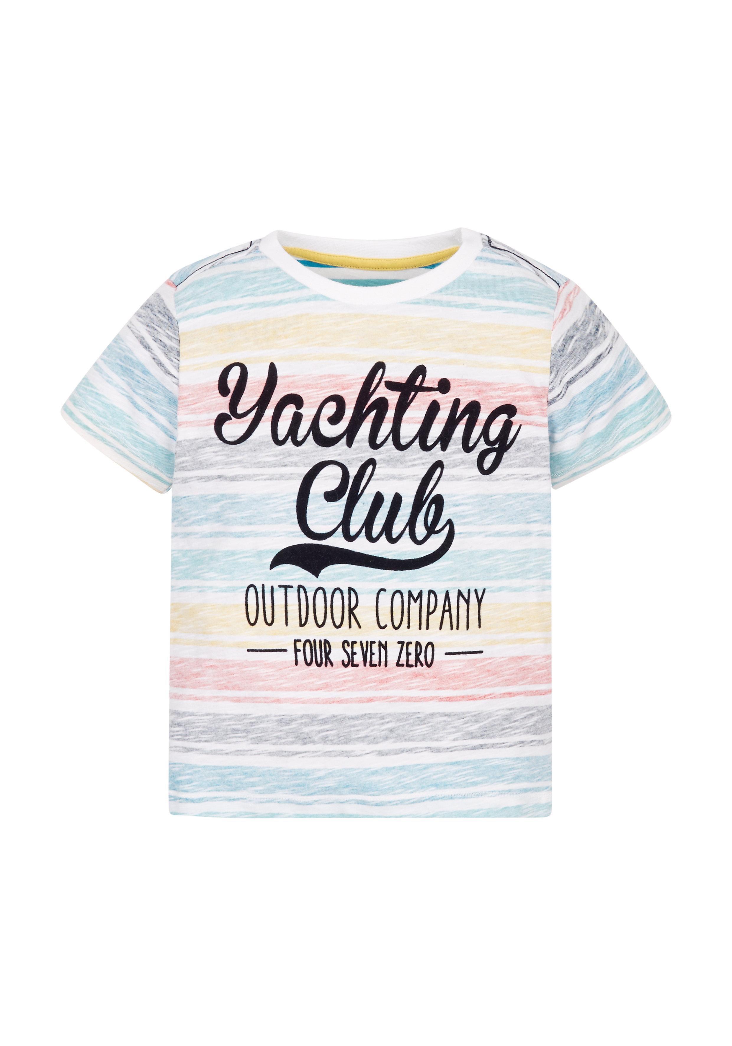Mothercare   Boys Pastel Yachting Club T-Shirt