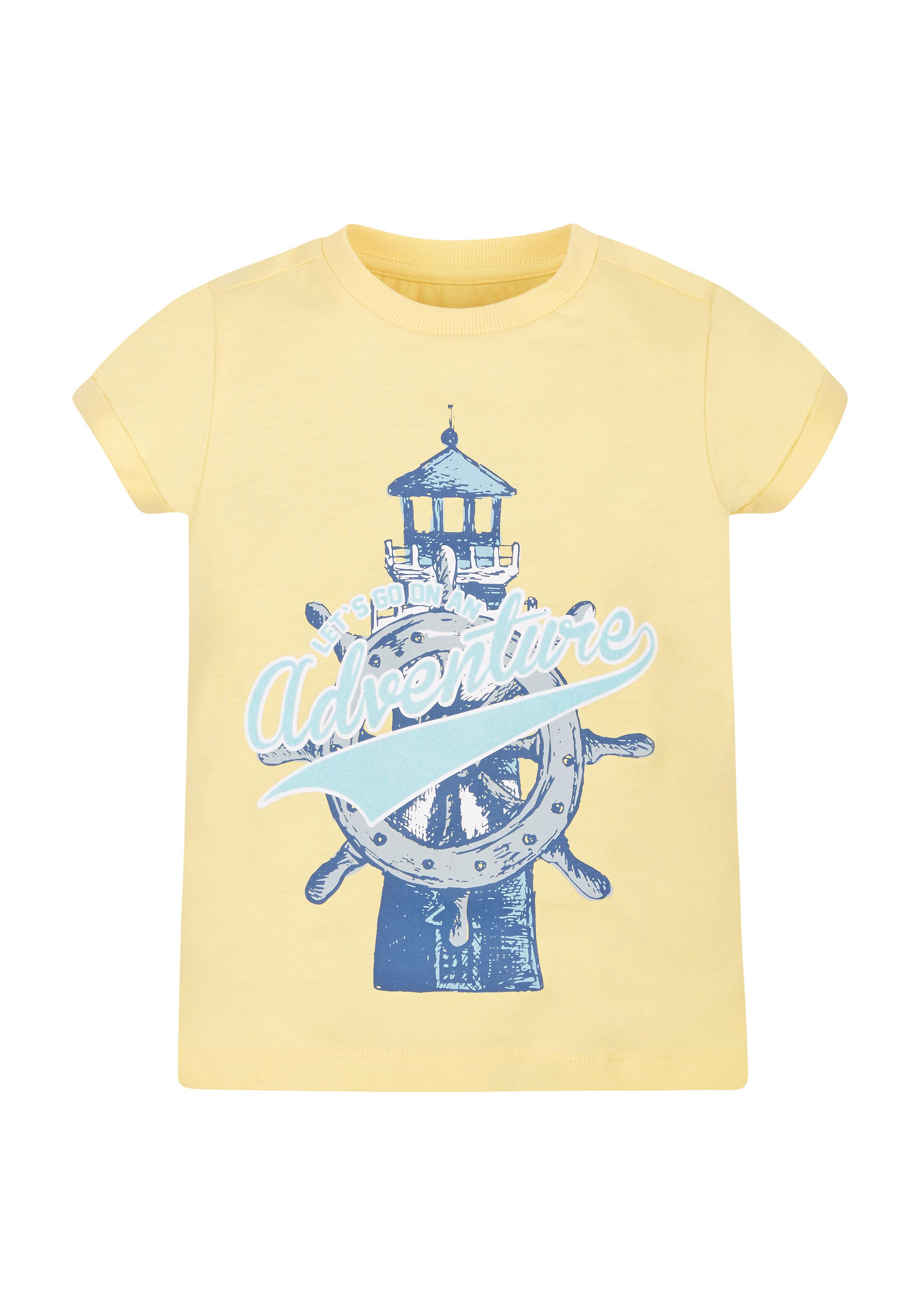 Mothercare | Boys Adventure T-Shirt - Yellow
