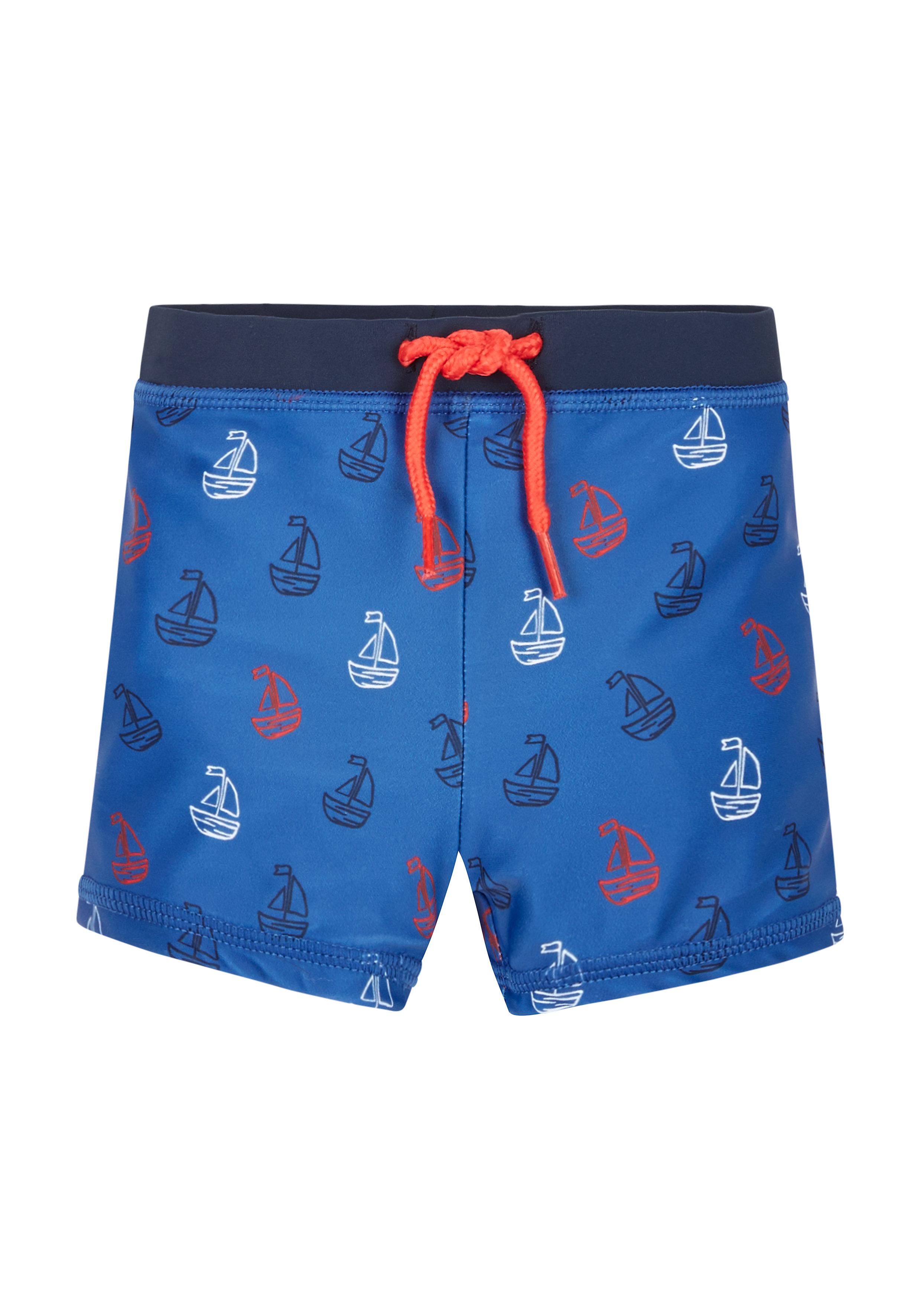Mothercare | Blue Boys Boat Print Trunks
