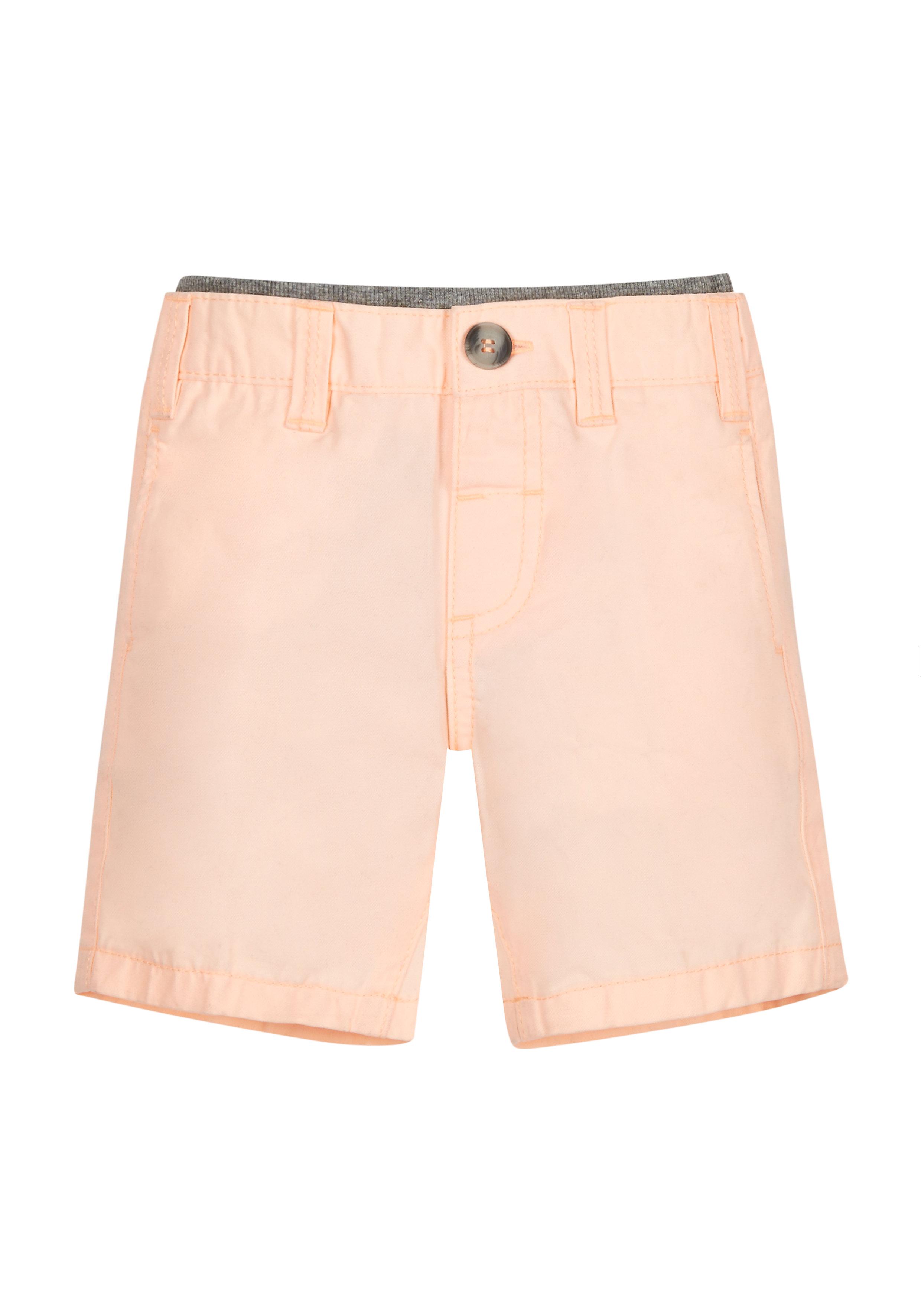 Mothercare | Boys Peach Chino Shorts - Orange