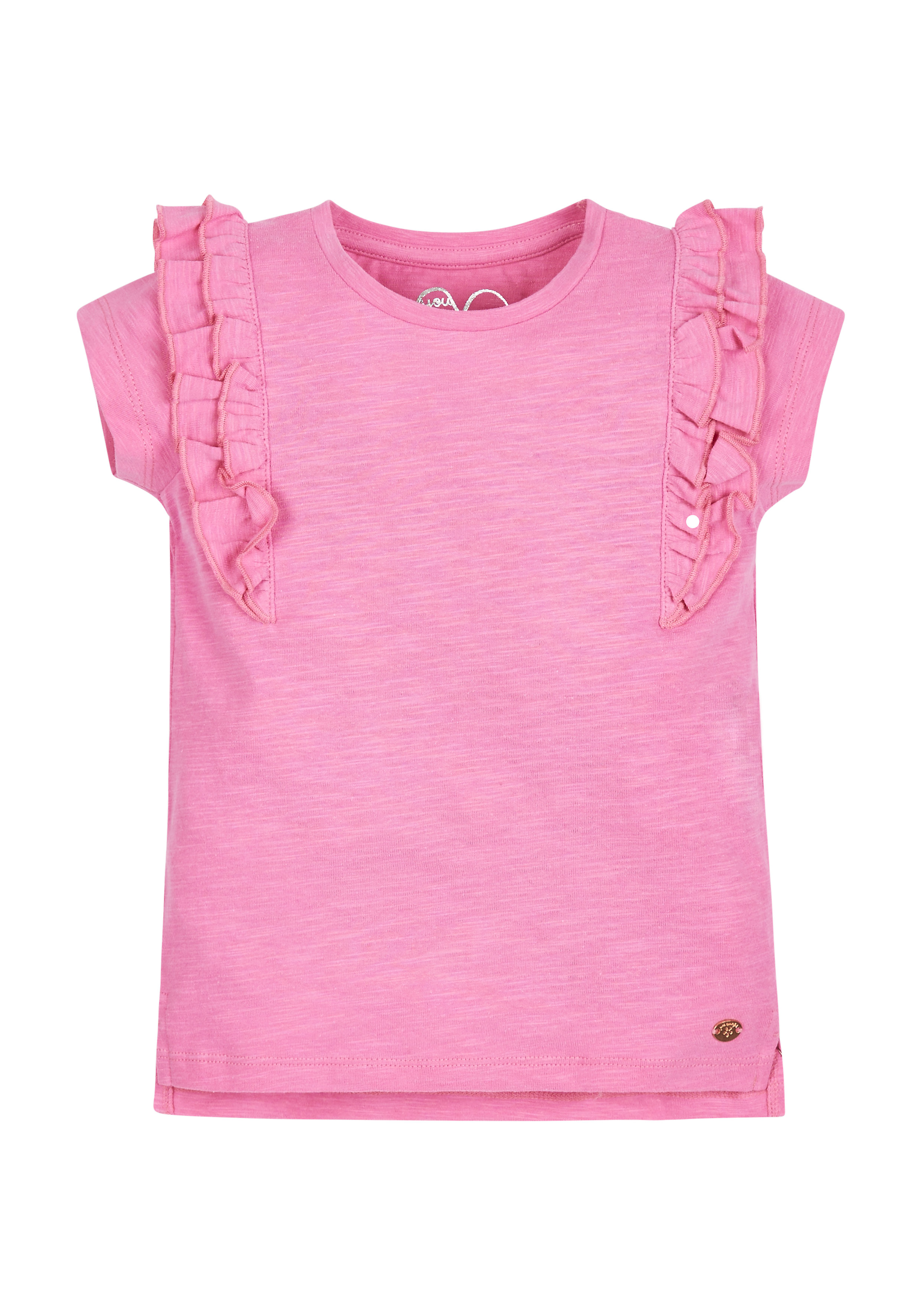 Mothercare | Girls Pink Frill Top - Pink