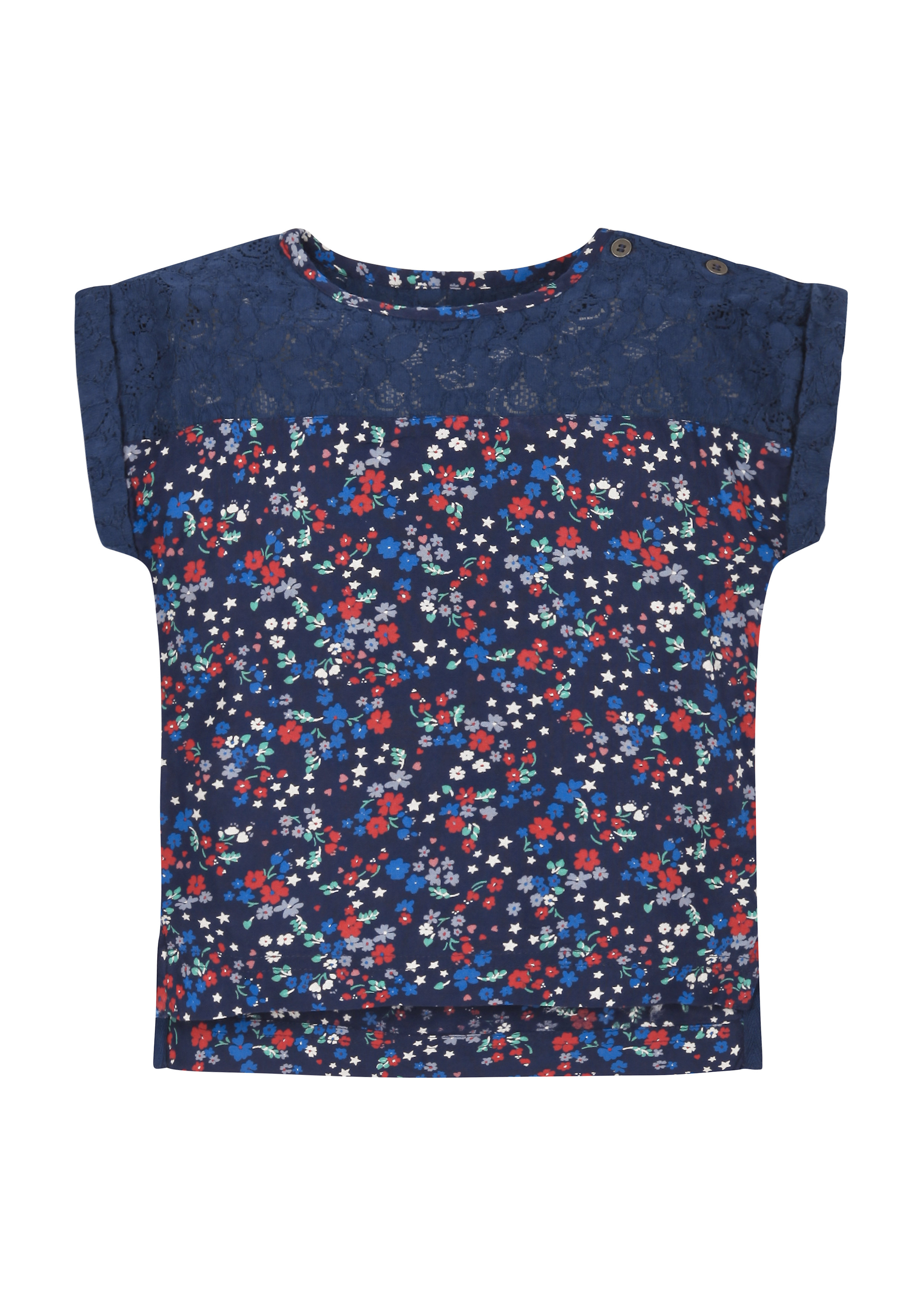 Mothercare | Girls Floral Lace Blouse