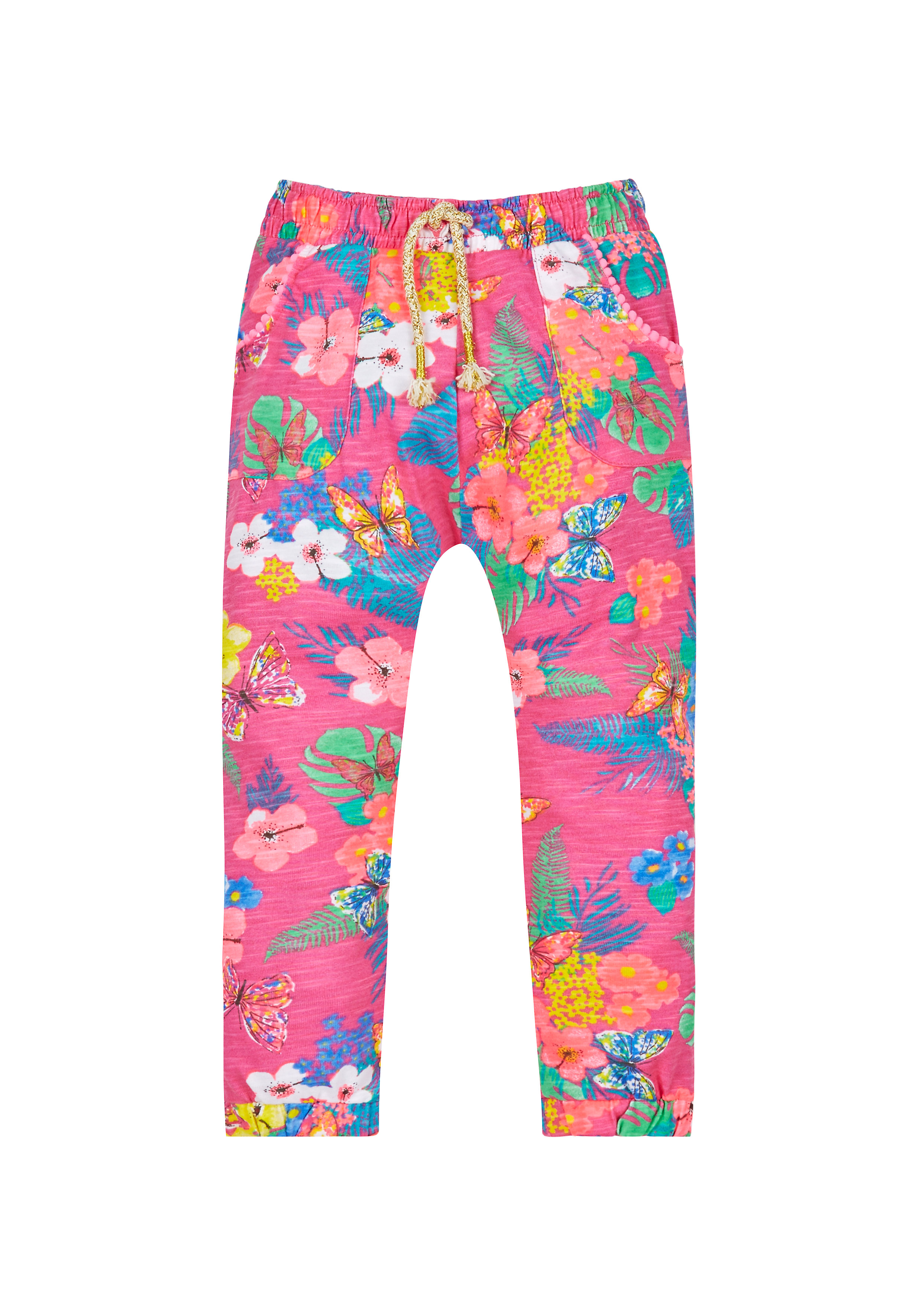 Mothercare | Girls Floral Print Hareem Trousers