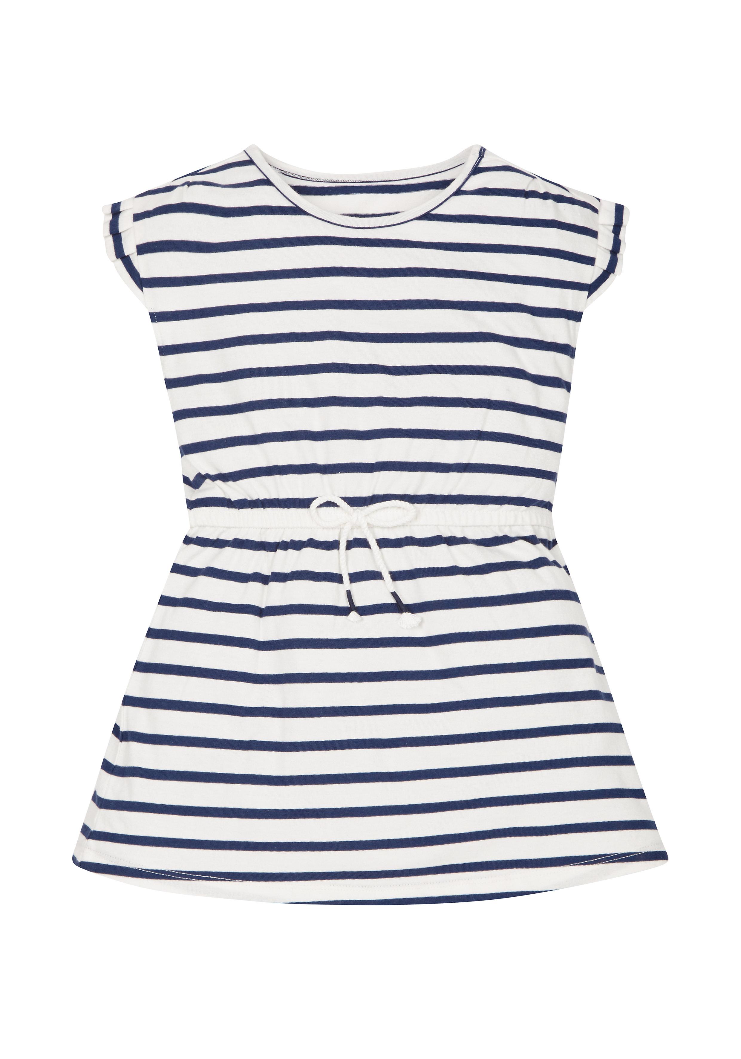 Mothercare | Girls Striped Jersey Dress