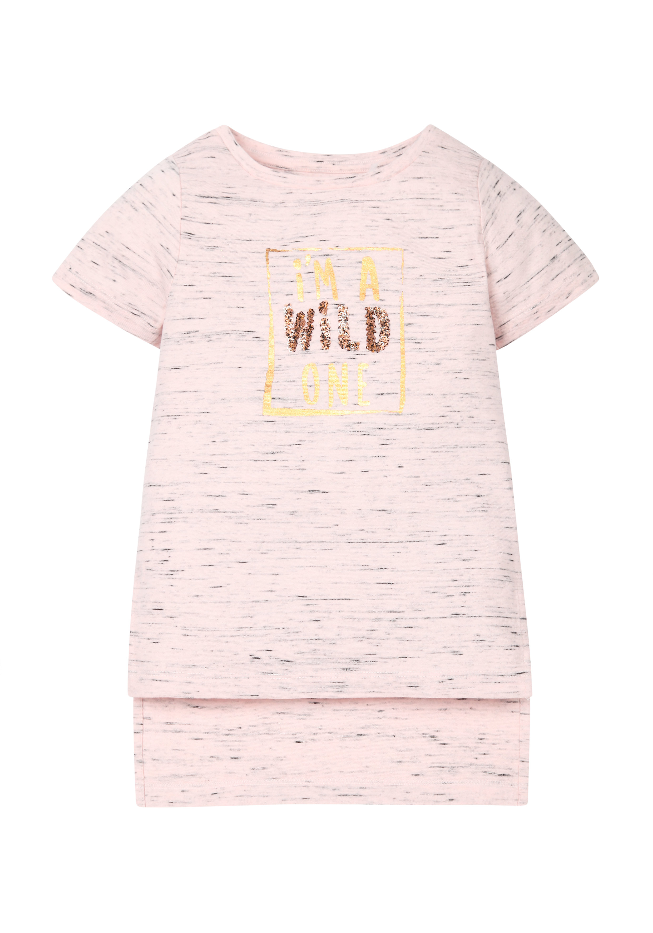 Mothercare   Girls Wild One T-Shirt - Pink