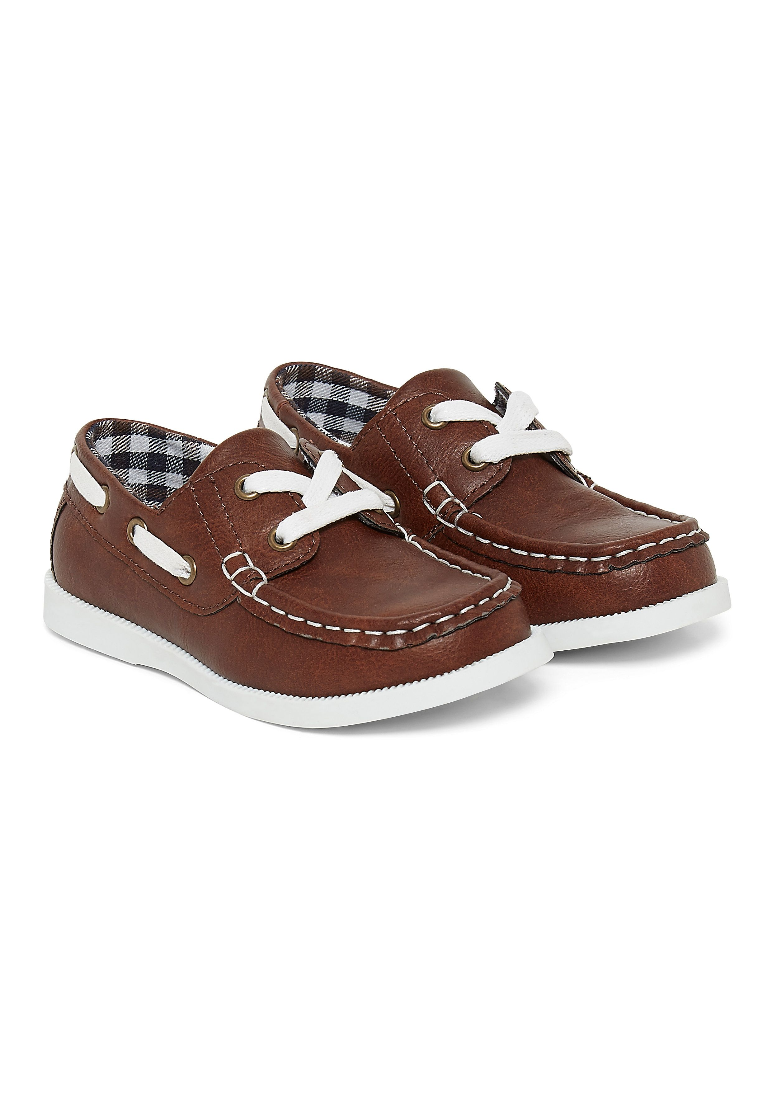 Mothercare | Brown Boat Shoes