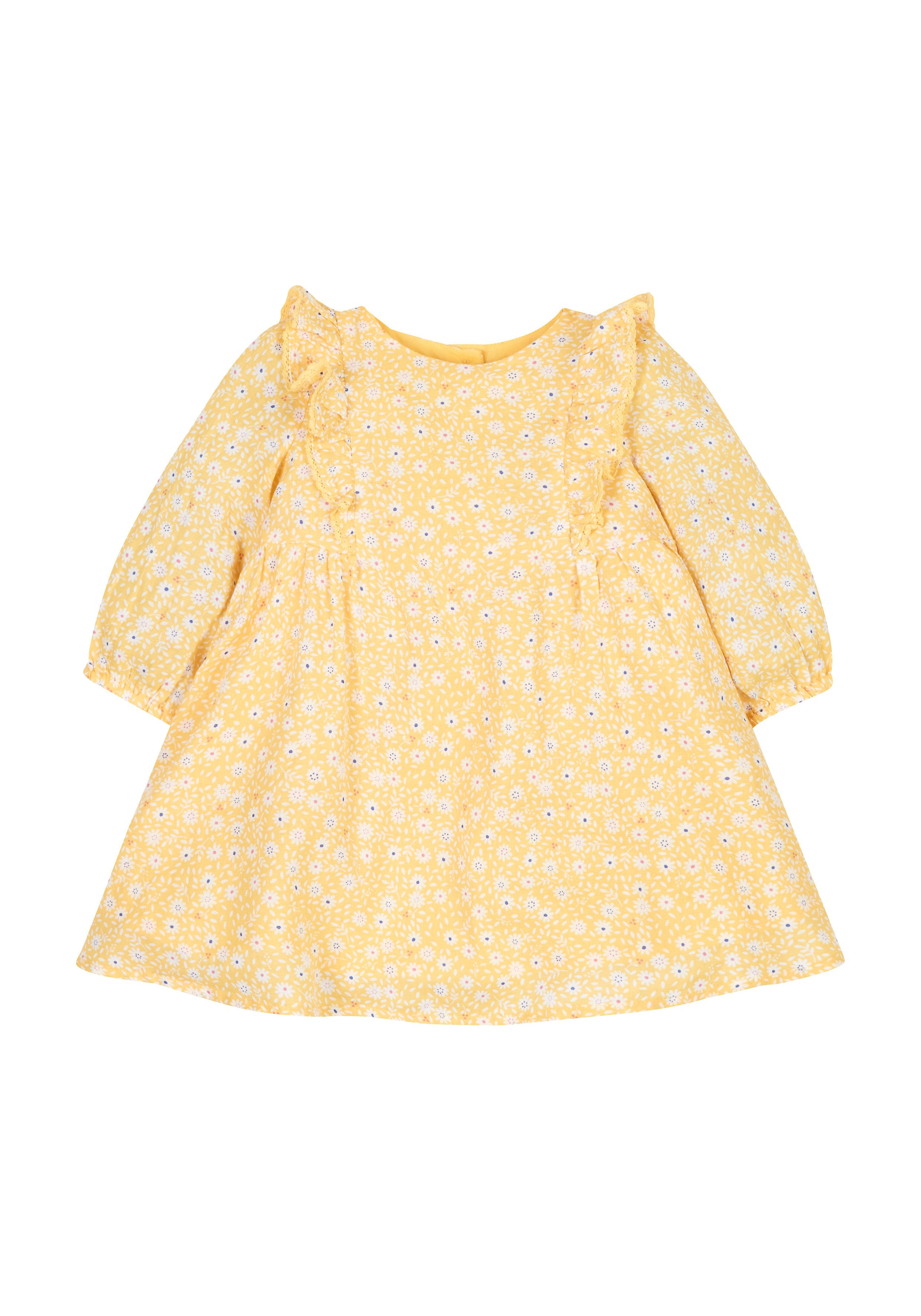 Mothercare | Frilly Mustard Dress