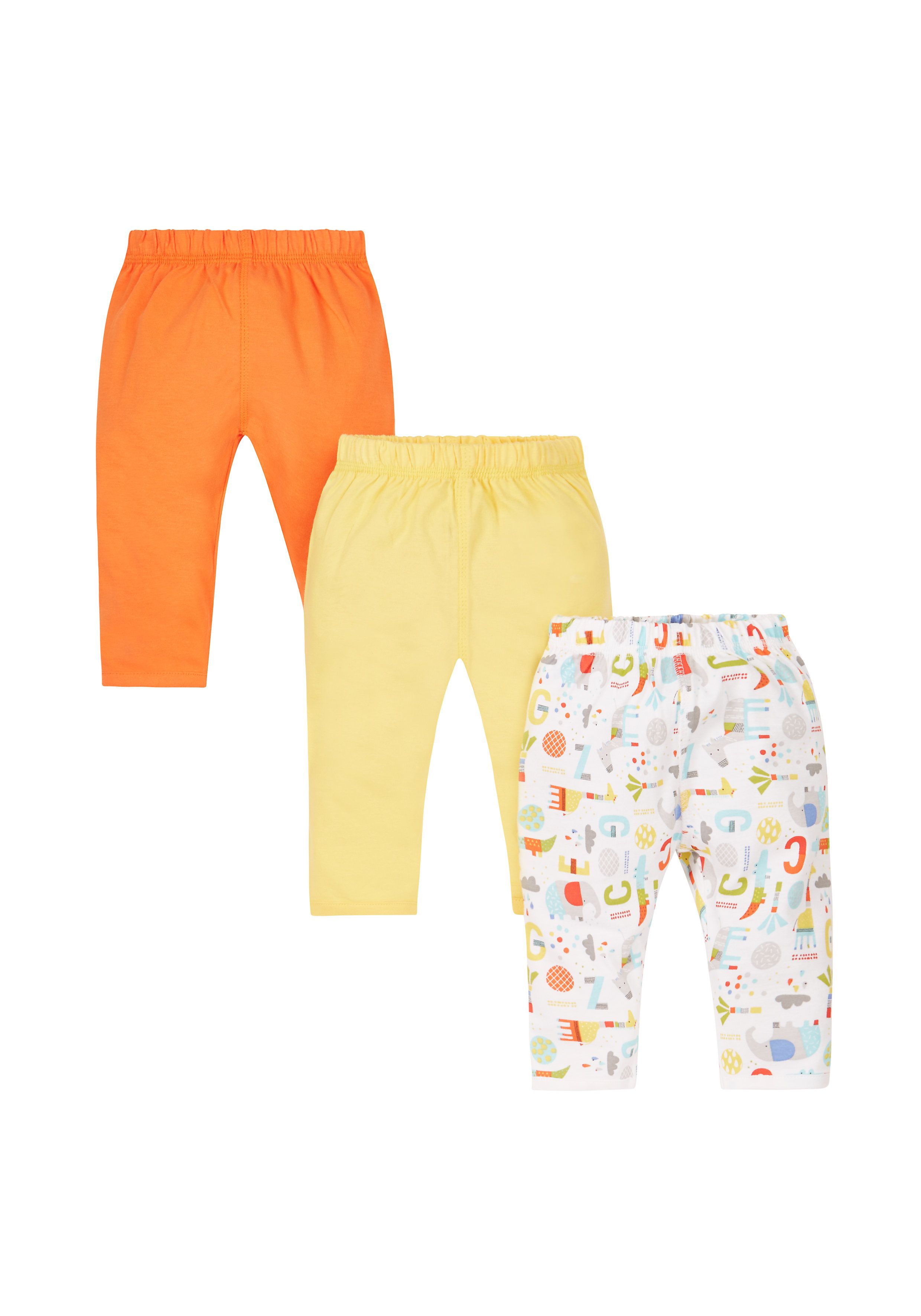 Mothercare | Colourful Leggings - 3 Pack