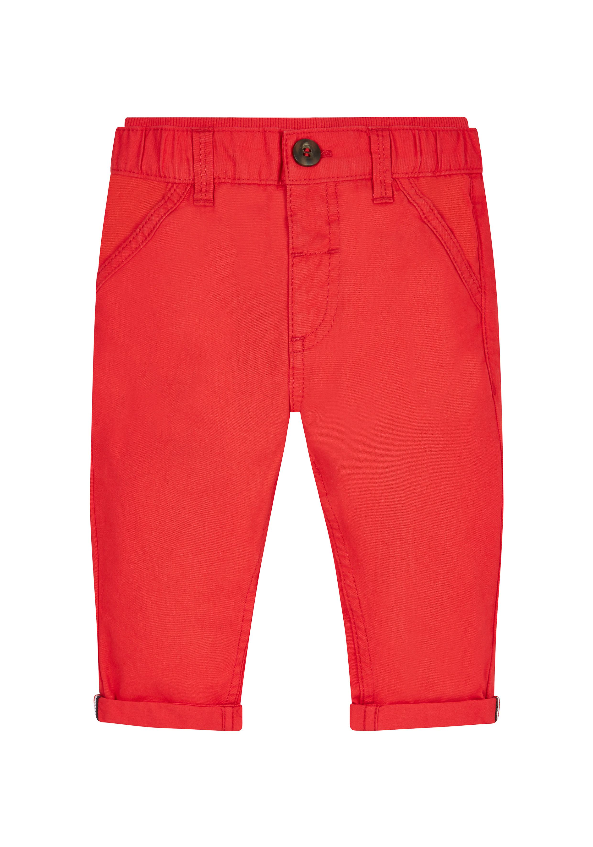 Mothercare | Red Ribwaist Chinos